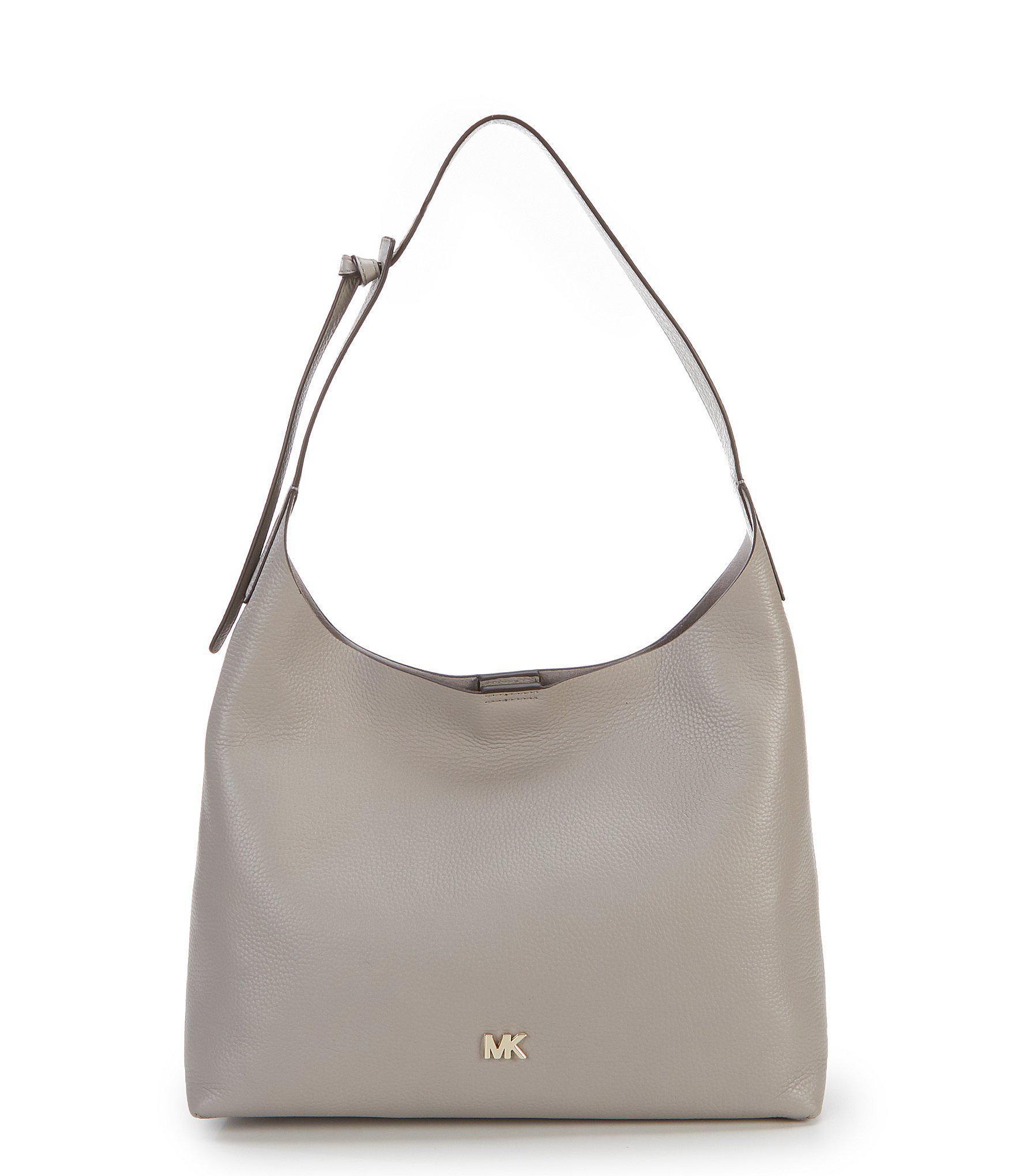 9efbe65d7384 MICHAEL Michael Kors Studio Junie Medium Hobo Bag in Gray - Lyst