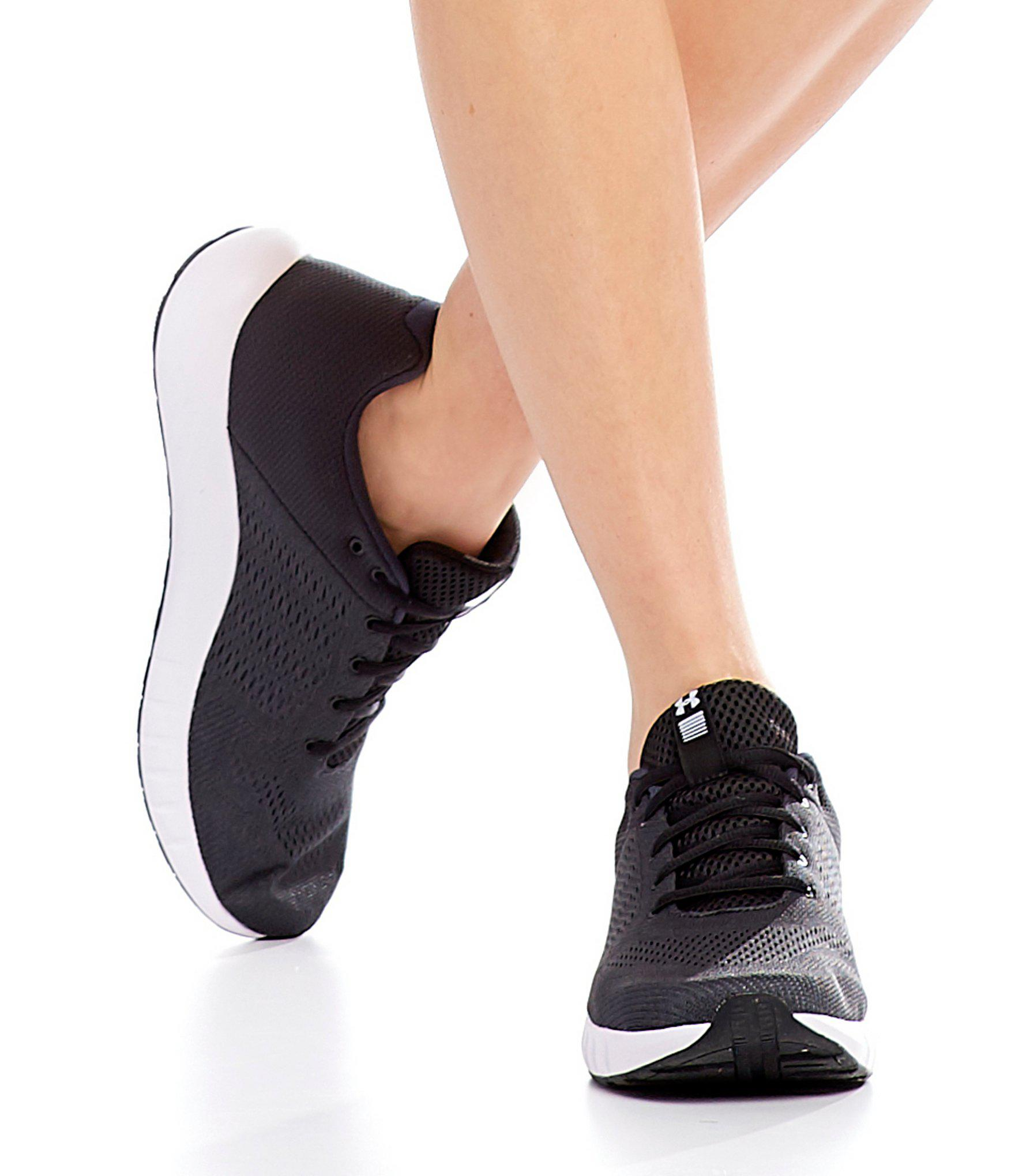0901fb34742b2 Under Armour Black Women's Micro G Pursuit Sneakers