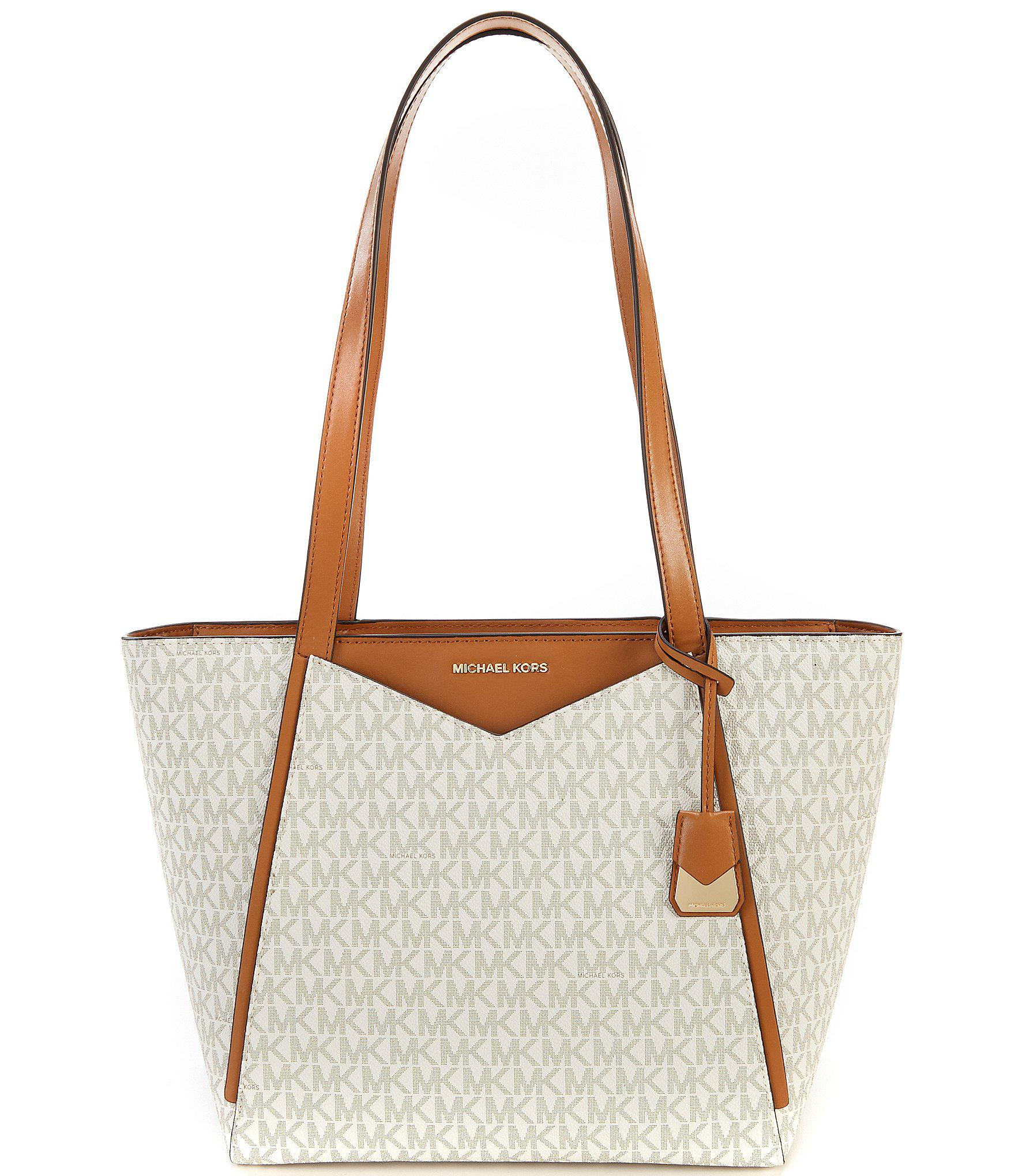 ef02dff4f9fc MICHAEL Michael Kors Signature Whitney Small Top-zip Colorblock Tote ...