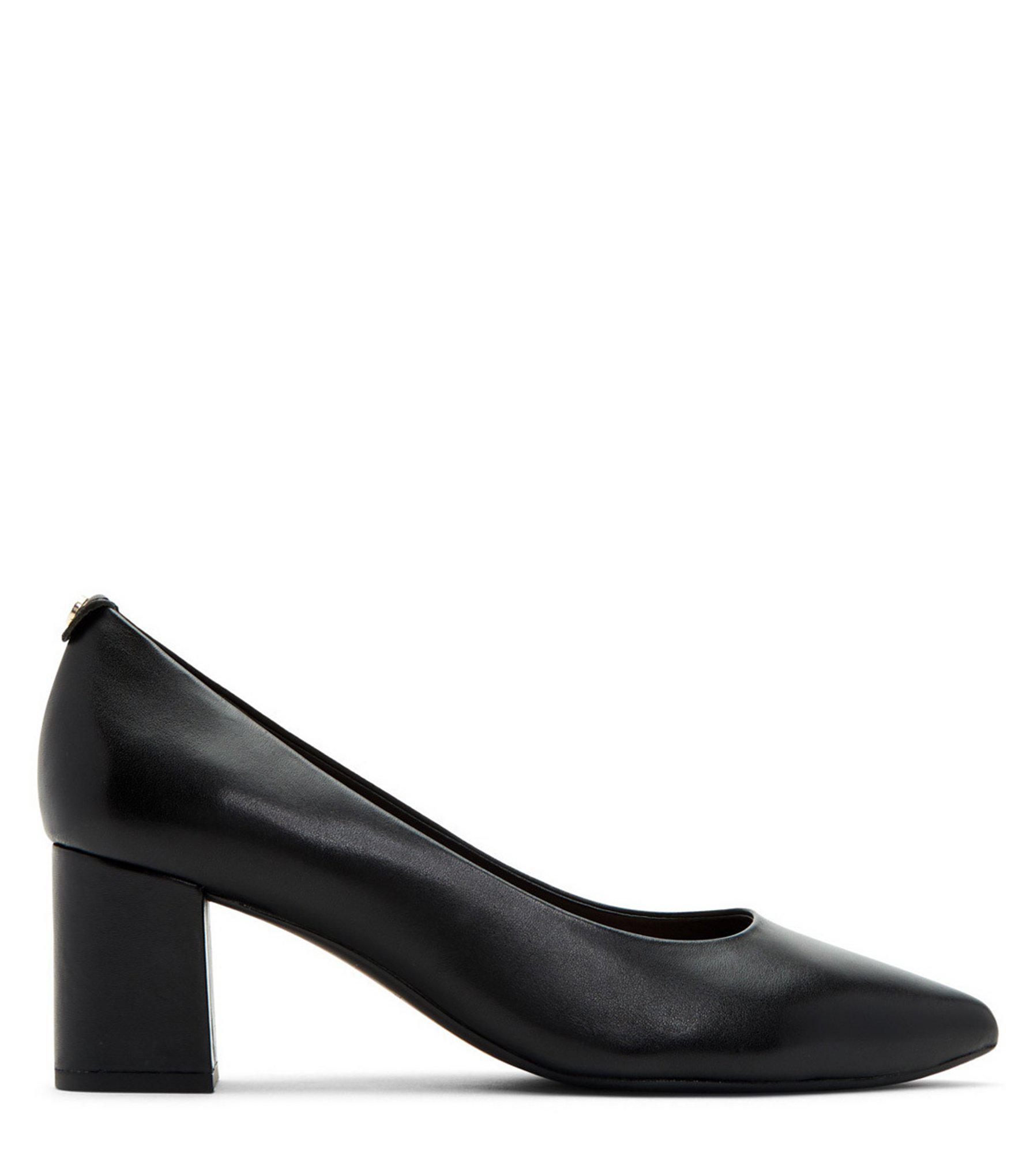 fb855db5067fd Taryn Rose - Black Madline Block Heel Pumps - Lyst. View fullscreen