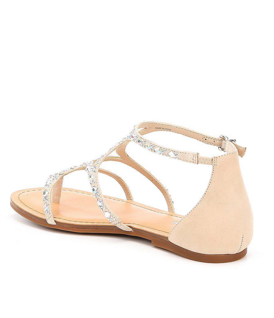 Gianni Bini Xephy Jeweled Sandals sWPQjuhC
