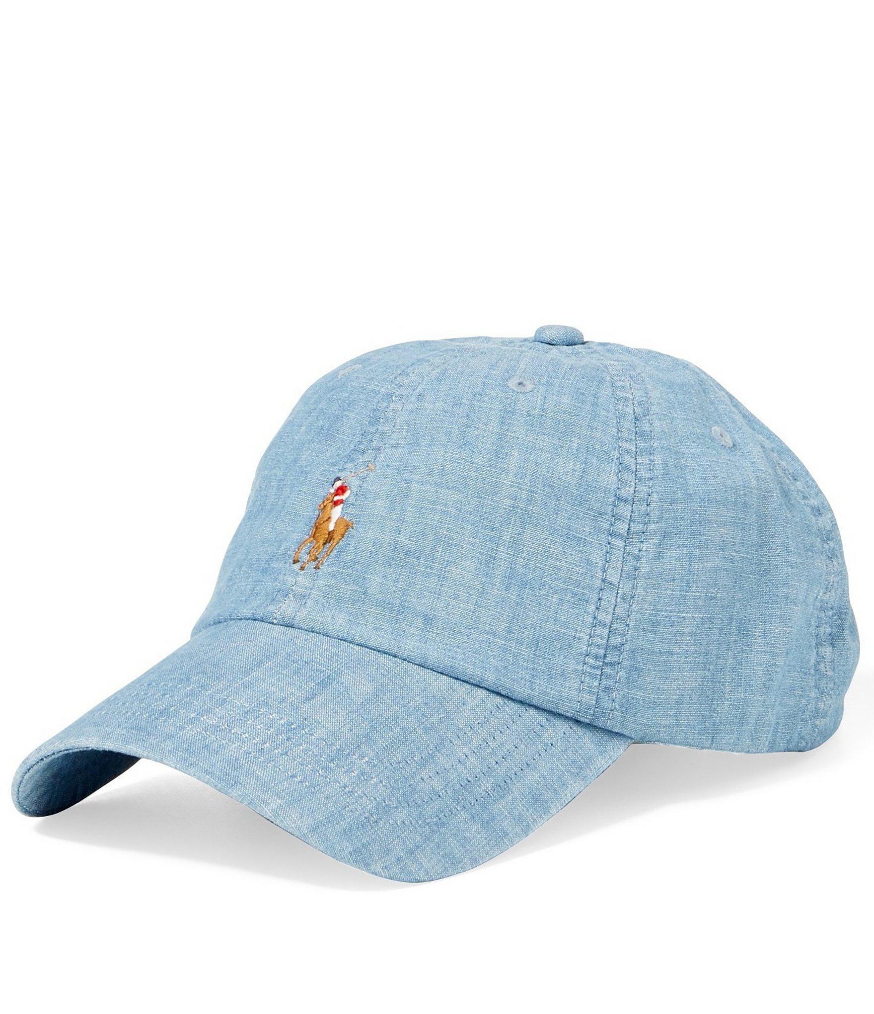 8856cf342bd Polo Ralph Lauren - Blue Classic Baseball Cap for Men - Lyst. View  fullscreen