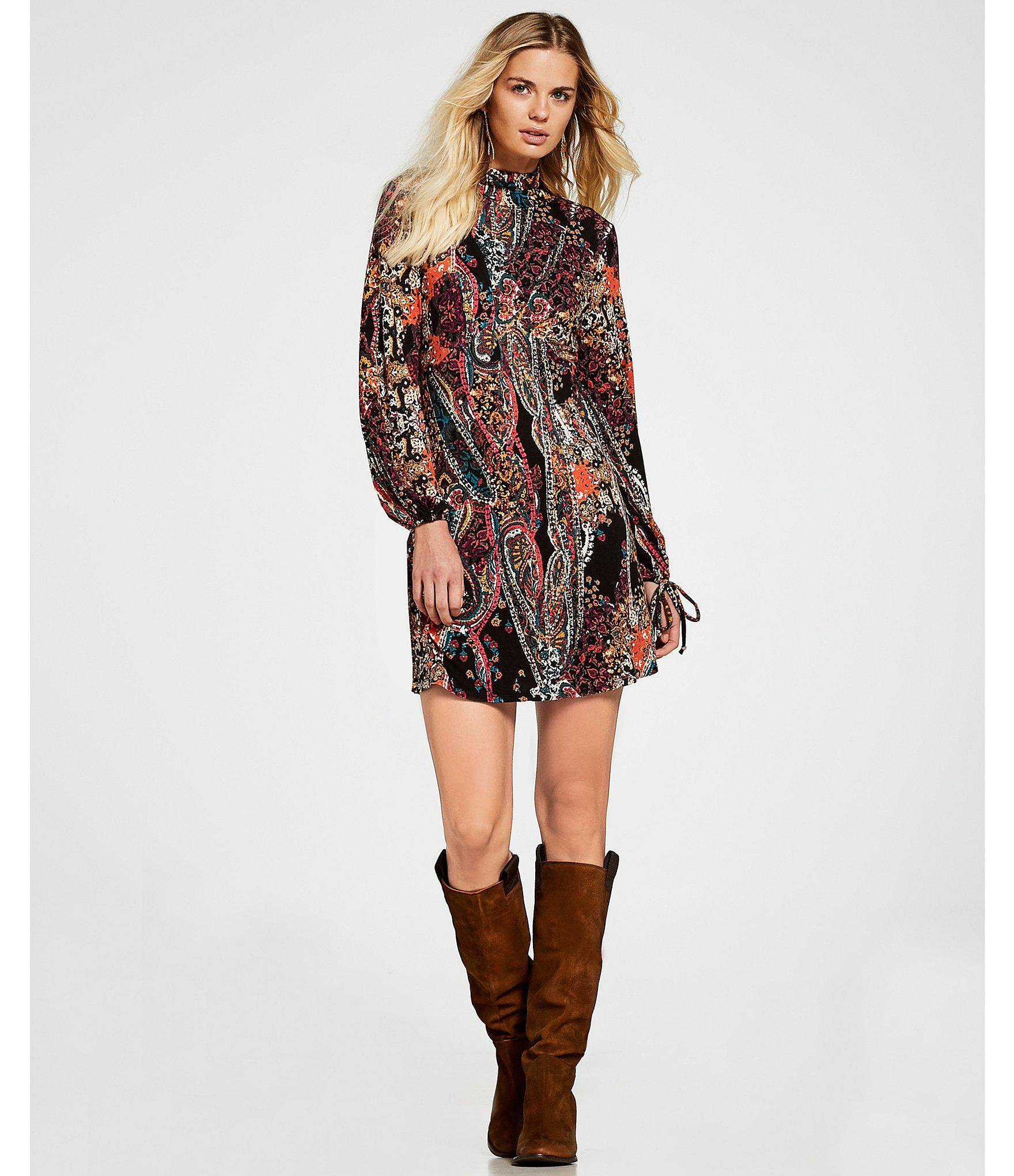 016425b56fe40 Free People All Dolled Up Mini Dress (red) Women's Dress in Black - Lyst