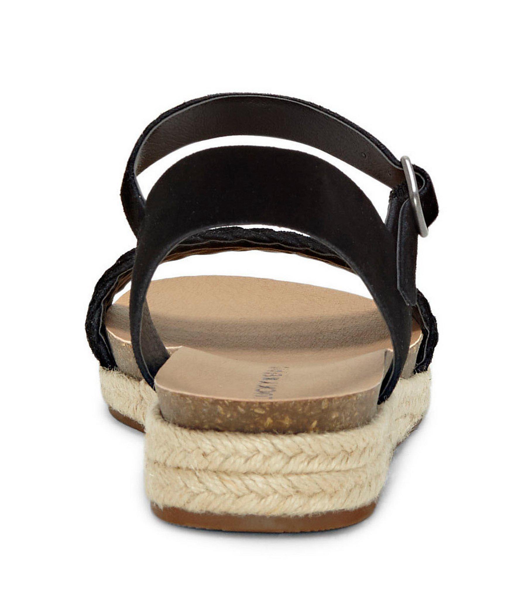 Genette Suede Espadrille Sandals