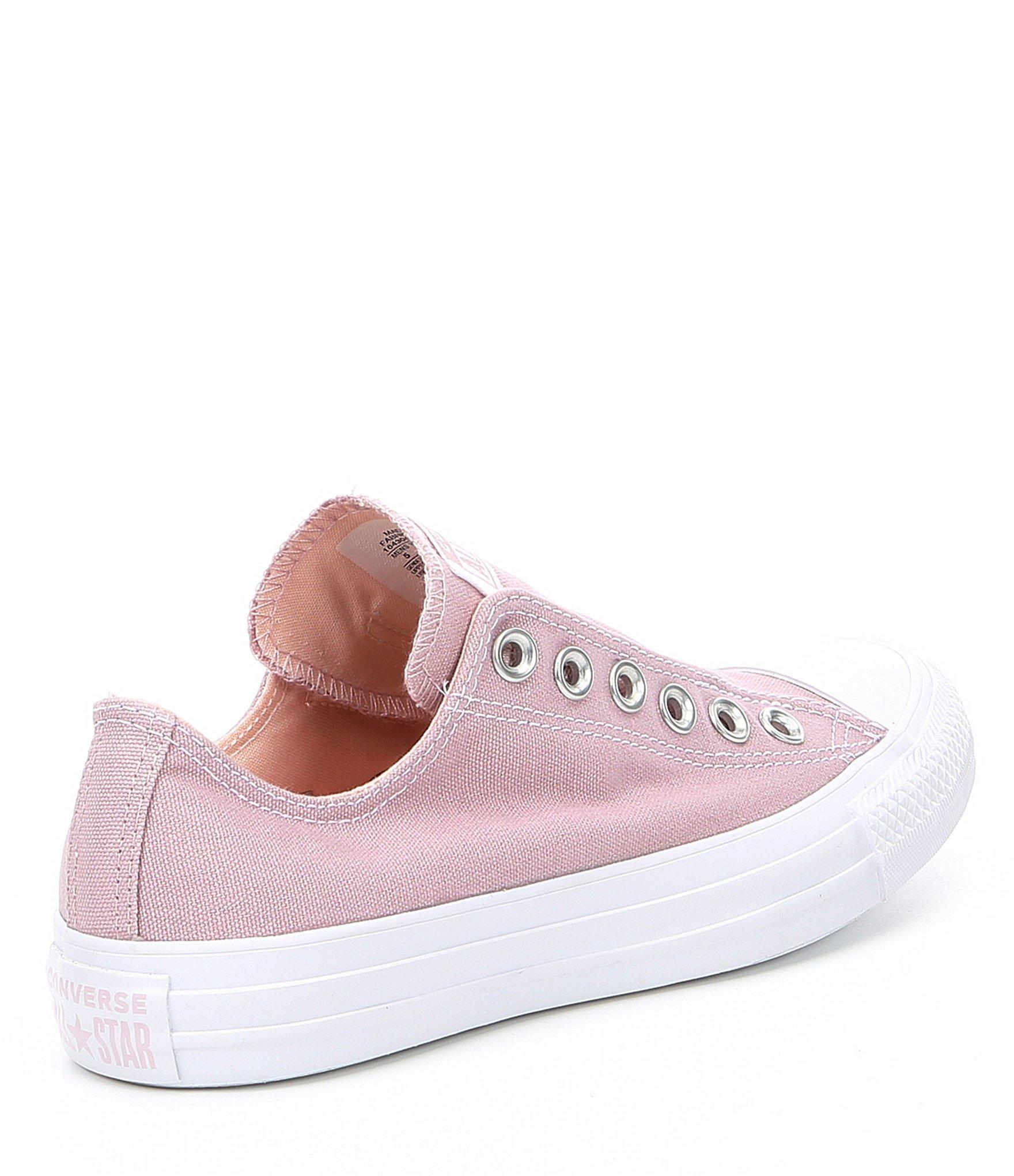 2f930645d00d Converse - Pink Women s Chuck Taylor All Star Boardwalk Summers Slip On  Sneakers - Lyst. View fullscreen