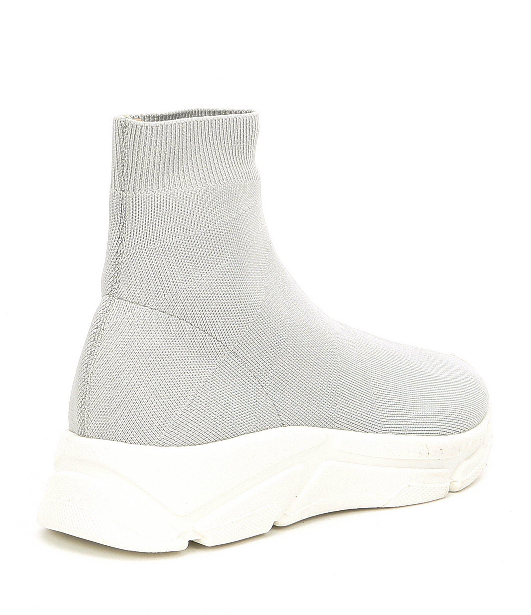 ff88265e09c Steve Madden Gray Bitten Knit Sneakers