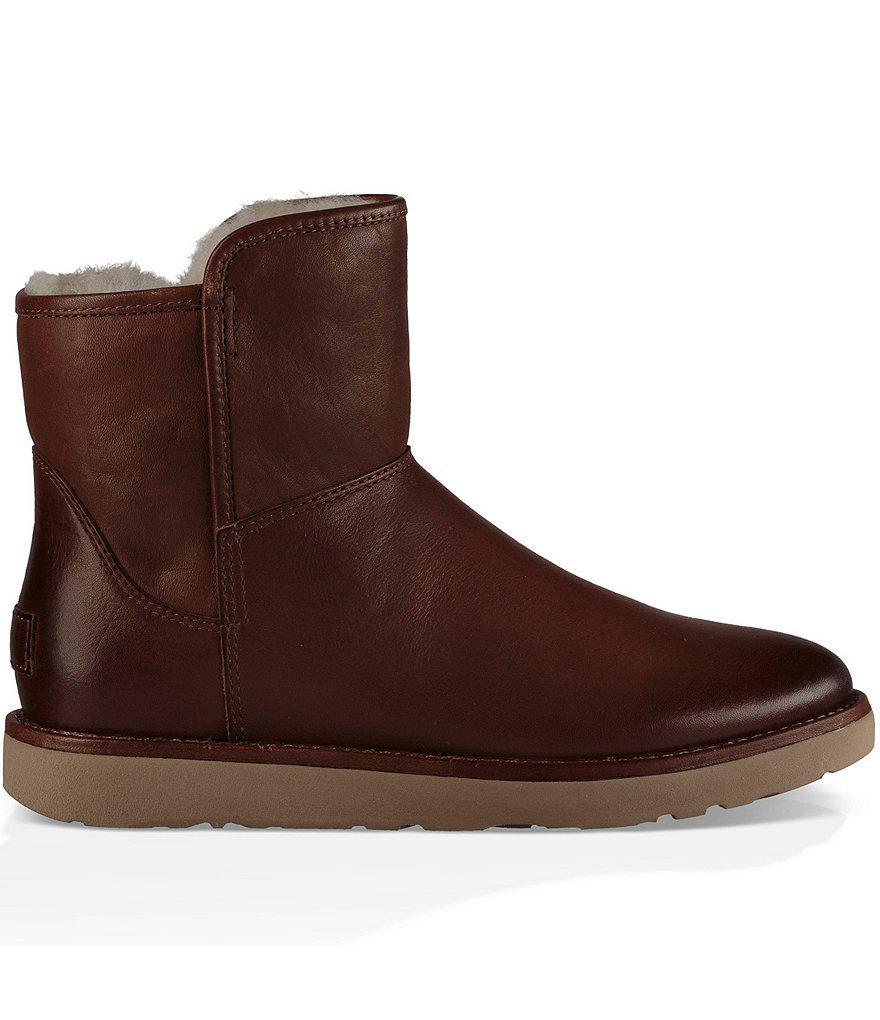 UGG® Abree Mini Leather Booties 9xhjdOz