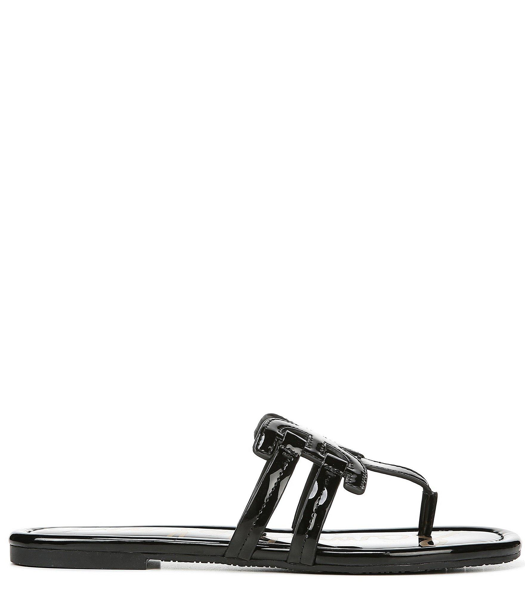 ab56d8110b14eb Lyst - Sam Edelman Cara Patent Double E Sandals in Black