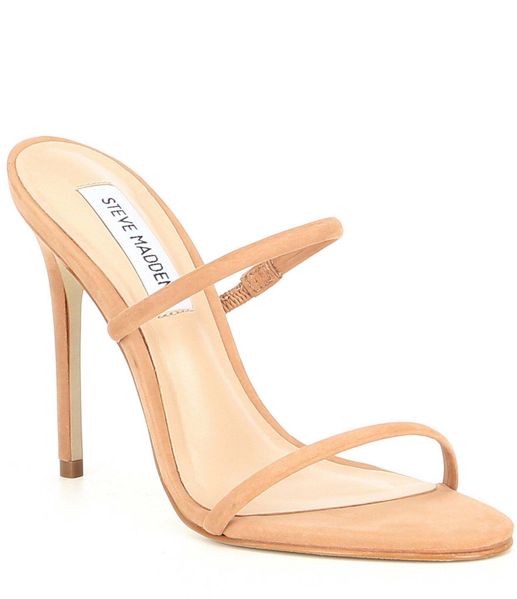Mina Suede Strappy Stiletto Sandals