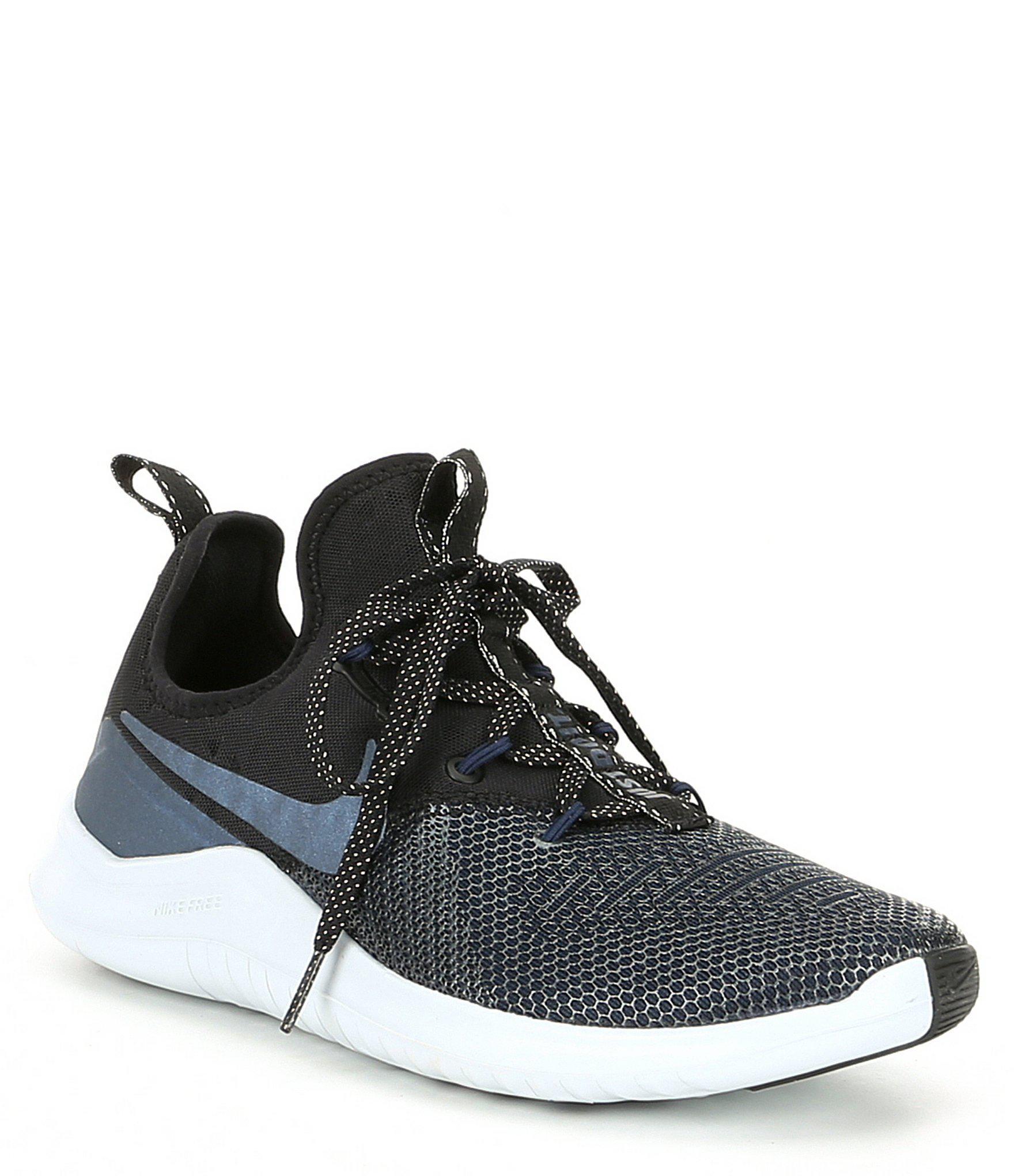 1b9a3619ea651d Lyst - Nike Women s Free Tr 8 Metallic Training Shoe in Black