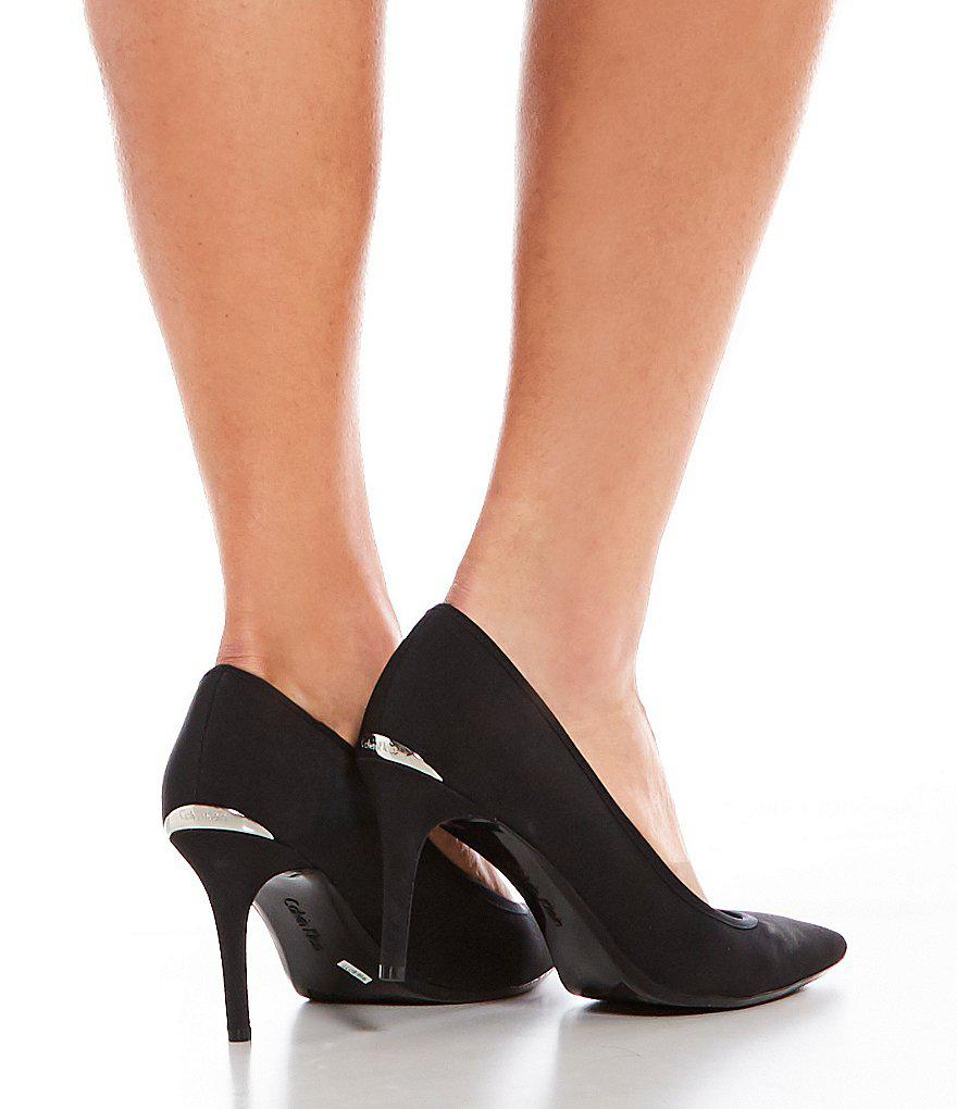 Gayle Textile Pointed-Toe Pumps c1TwO8