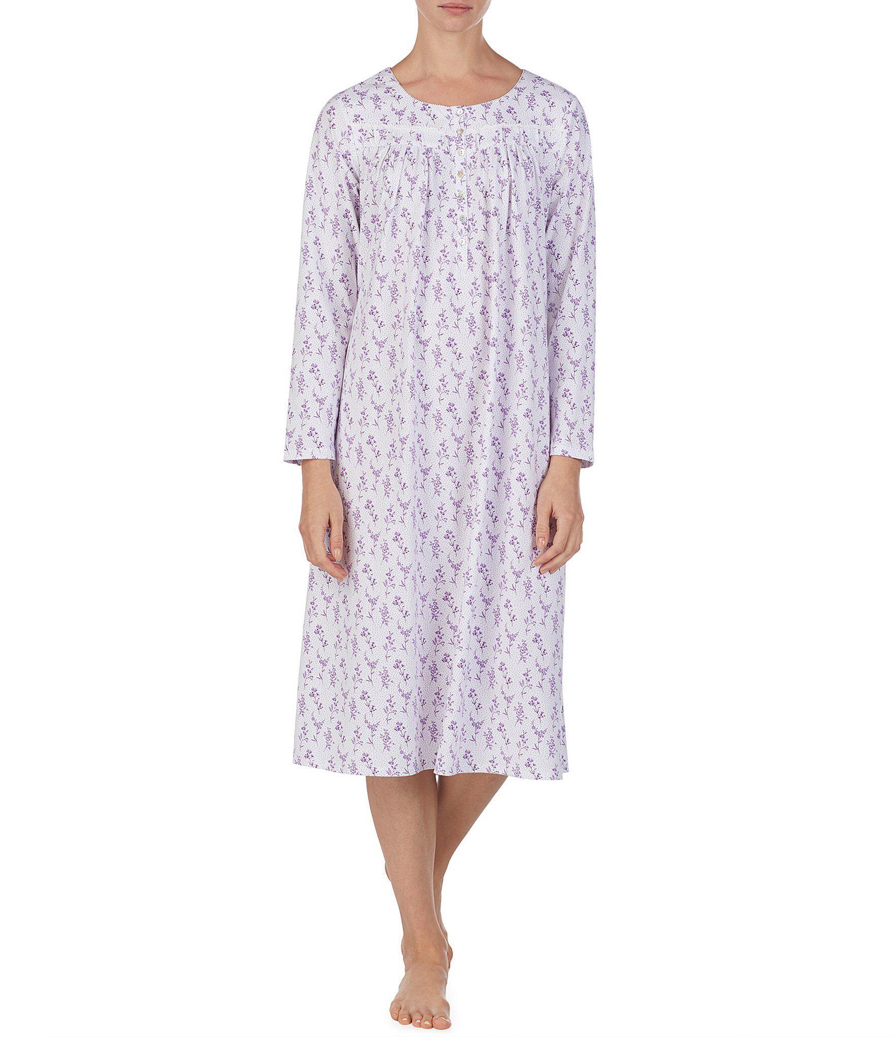 3c3b35f482 Lyst - Eileen West Jersey Knit Ballet Nightgown in Purple