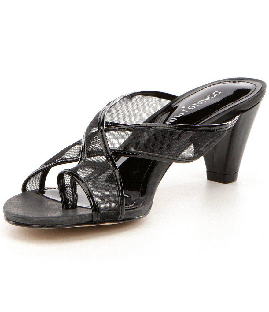Vilo Mesh & Patent Leather Slip-On Dress Sandals 9S7OHEbtL