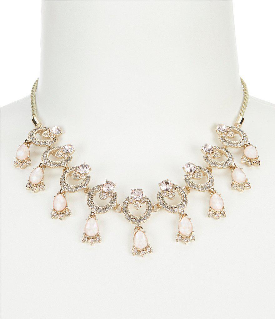 stud pendant necklace - Metallic Marchesa DS8T4