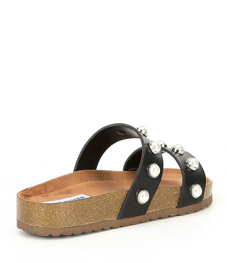 Asset Double Banded Pearl Slip-On Sandals acYlZ