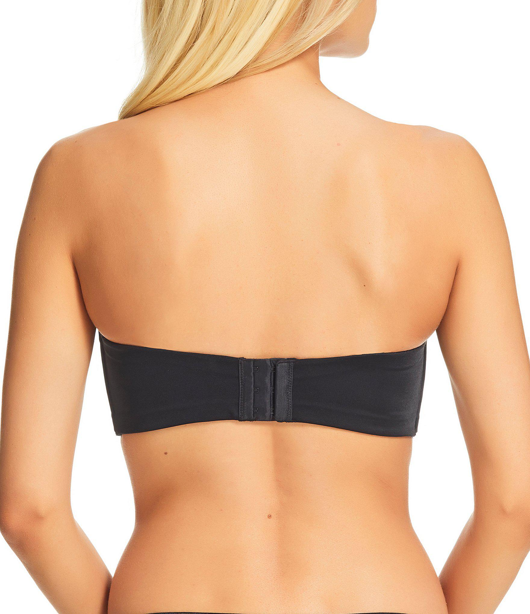 a4aad8a43920b Fine Lines - Black Confidence Underwire Bandeau Bra - Lyst. View fullscreen