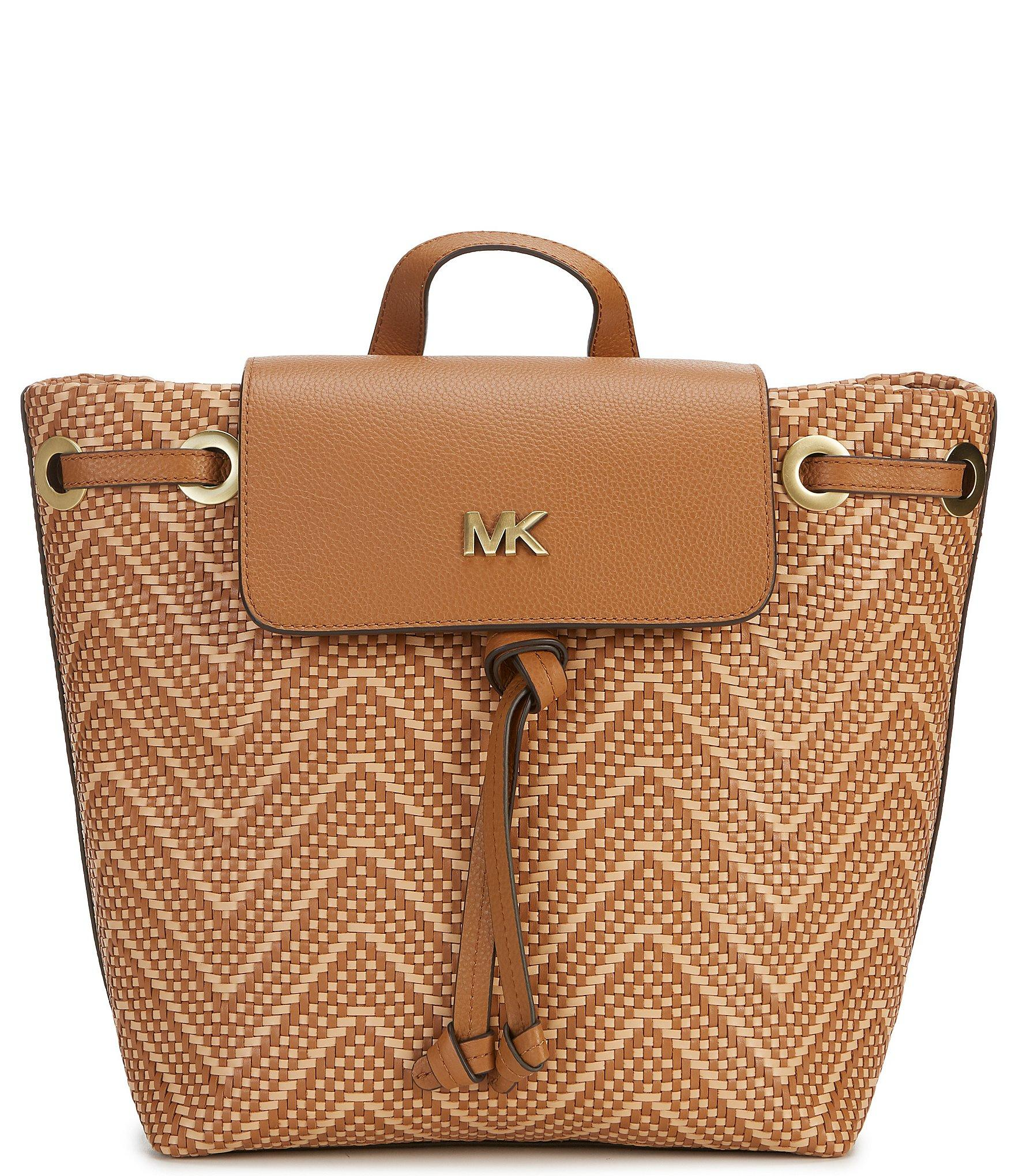 8b16541b7e82 Michael Kors - Multicolor Junie Medium Colorblock Flap Backpack - Lyst.  View fullscreen