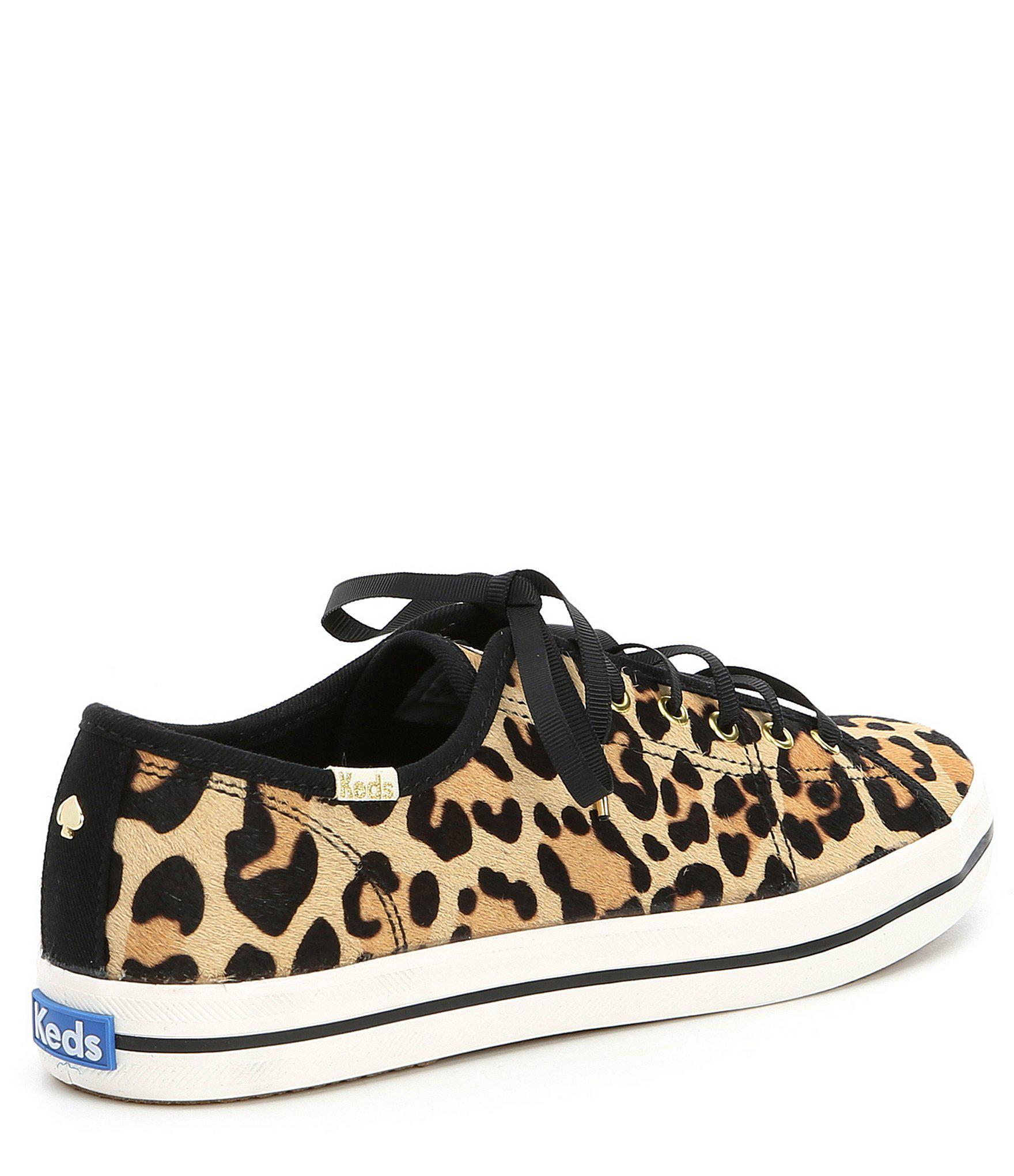 3428eb7dde8c Kate Spade - Brown Keds X Kickstart Leopard Sneakers - Lyst. View fullscreen