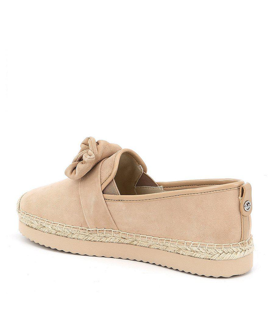 Willa Suede Bow Detail Espadrilles 3lQeFb
