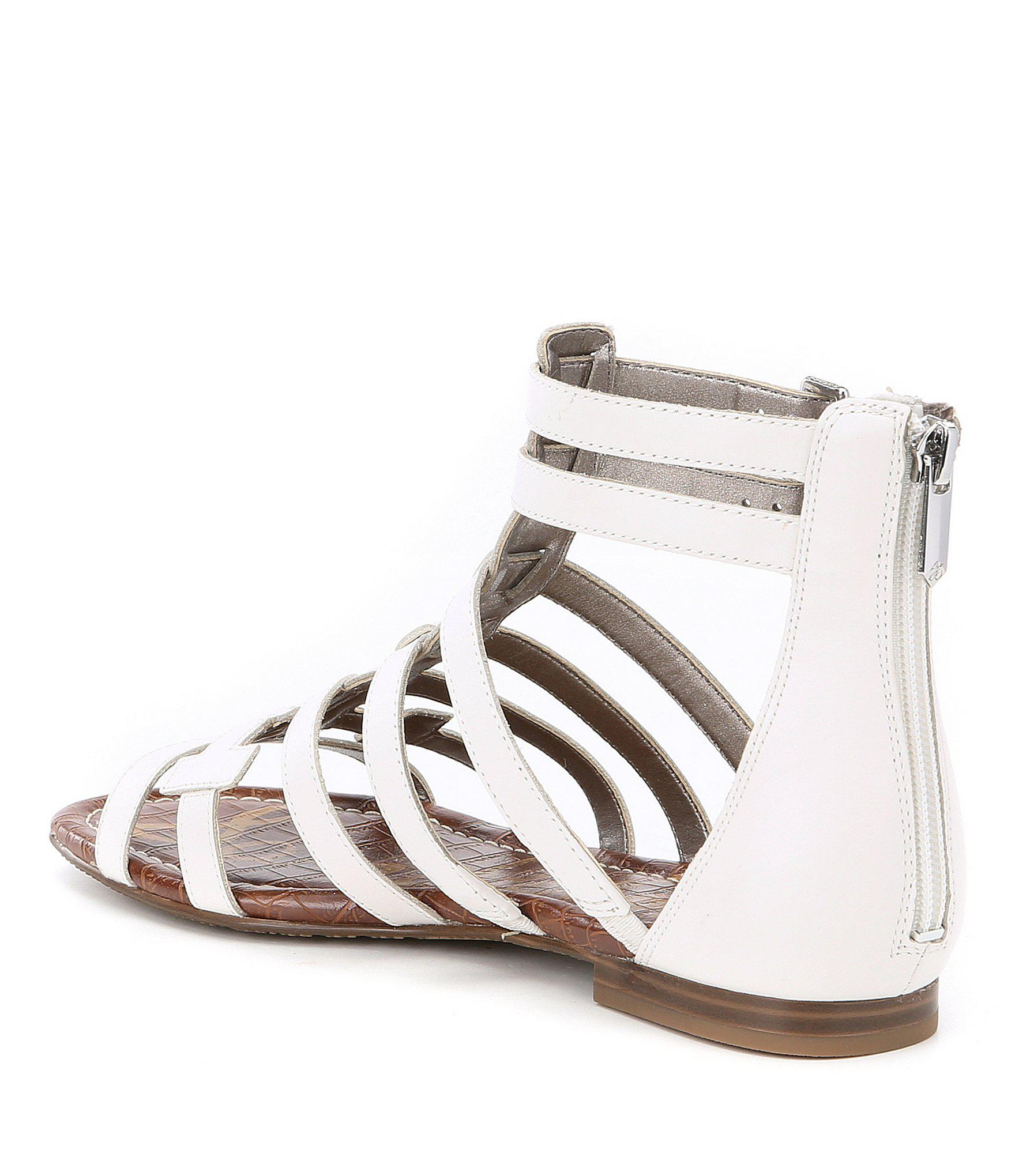 690a8b85d5cd Gallery. Previously sold at  Dillard s · Women s Cage Sandals Women s  Gladiator ...