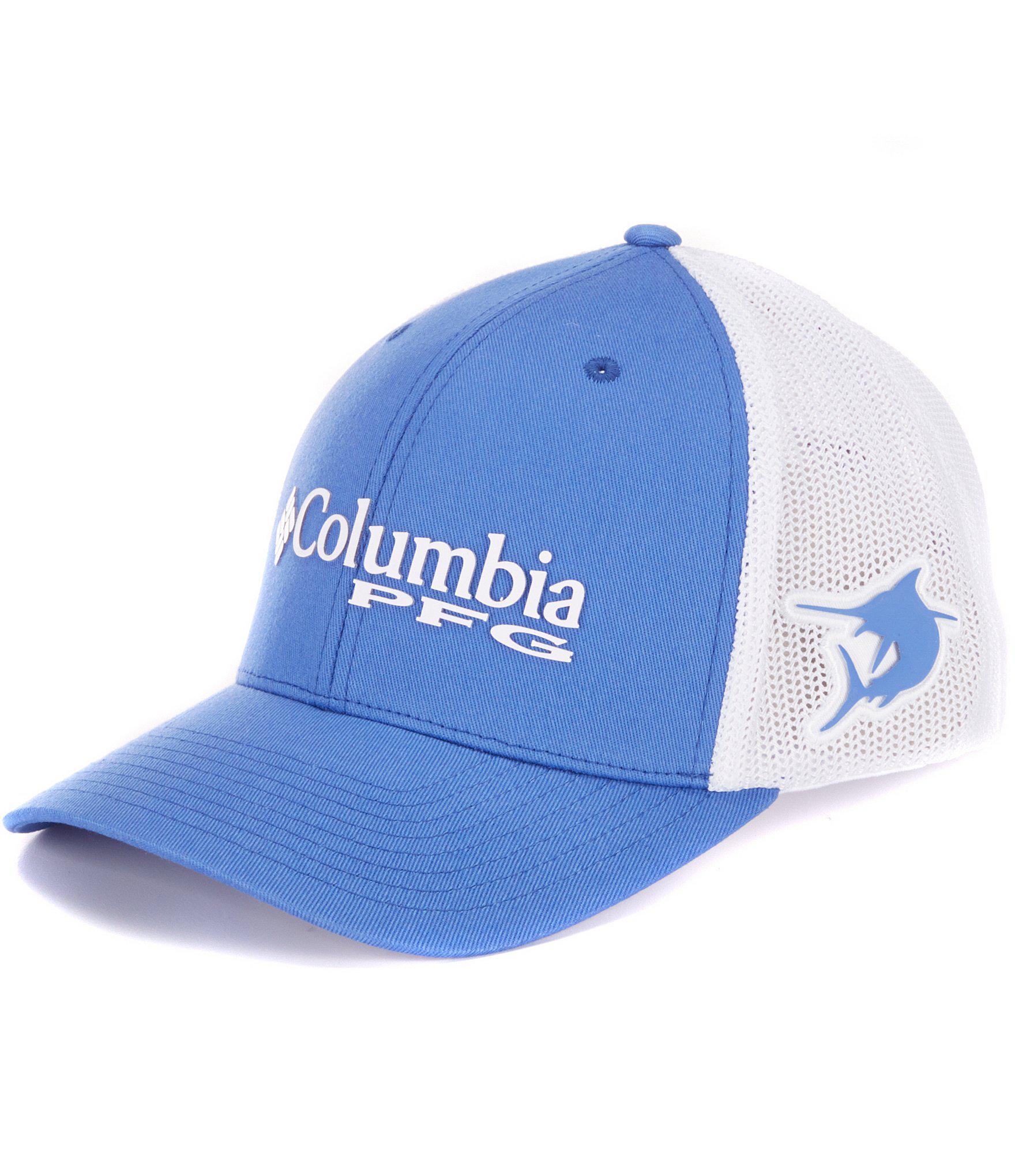 Lyst - Columbia Pfg Mesh Cap in Blue for Men db1f503fc9f0