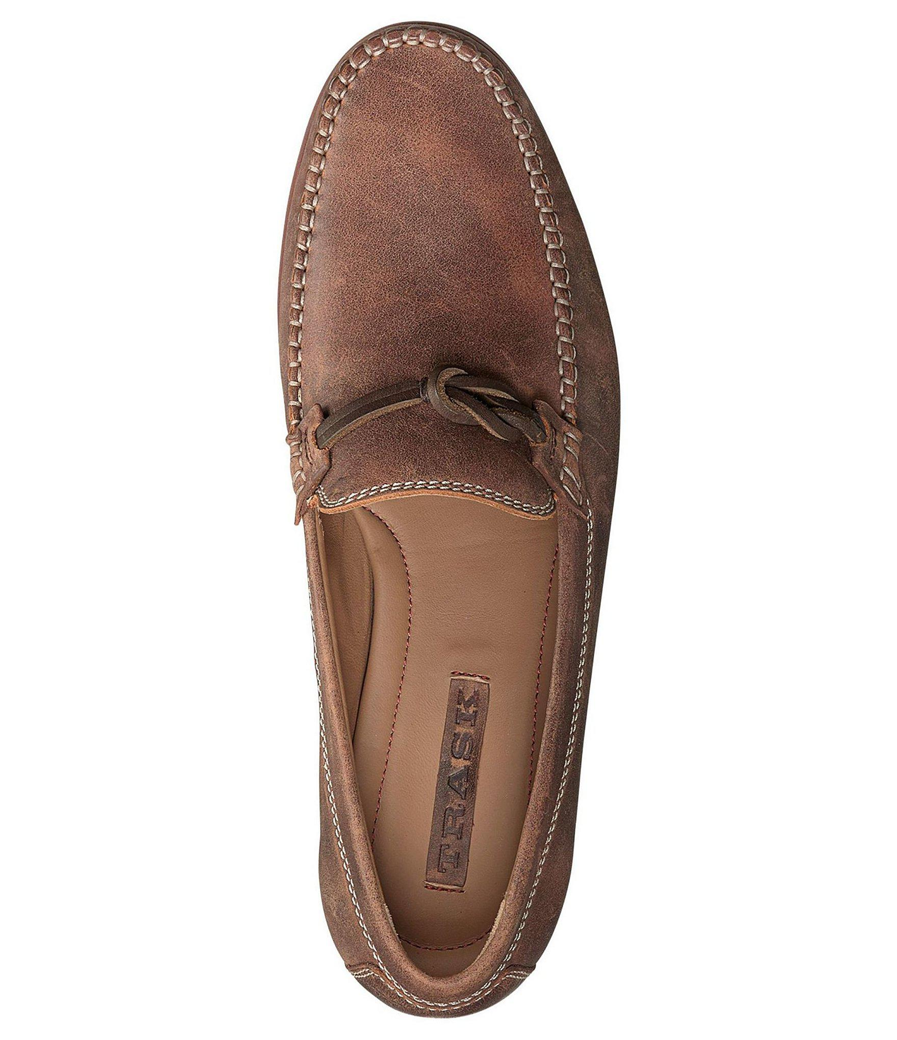 cfd08a39054 Trask - Brown Men S Sawyer American Steer Loafers for Men - Lyst. View  fullscreen