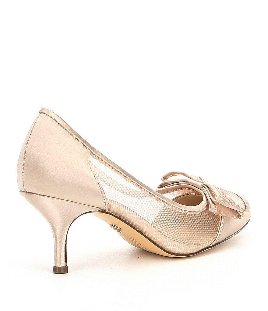 Bianca Satin Bow Detail Pumps huv5z8