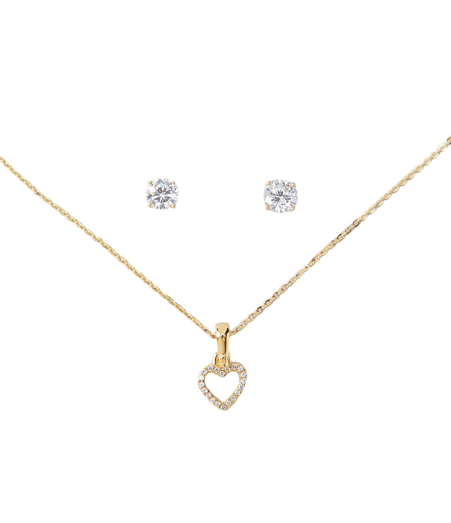 357a84099836 Lyst - Michael Kors Sterling Silver Heart Box Set in Metallic