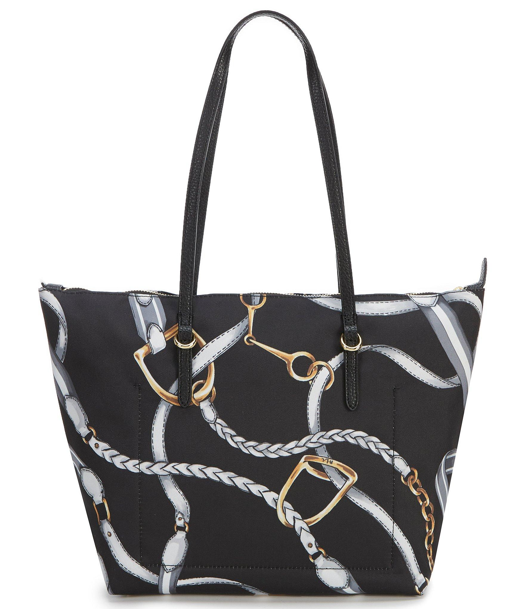 Lauren by Ralph Lauren - Black Chadwick Medium Tote Bag - Lyst. View  fullscreen 58a07b76a9947