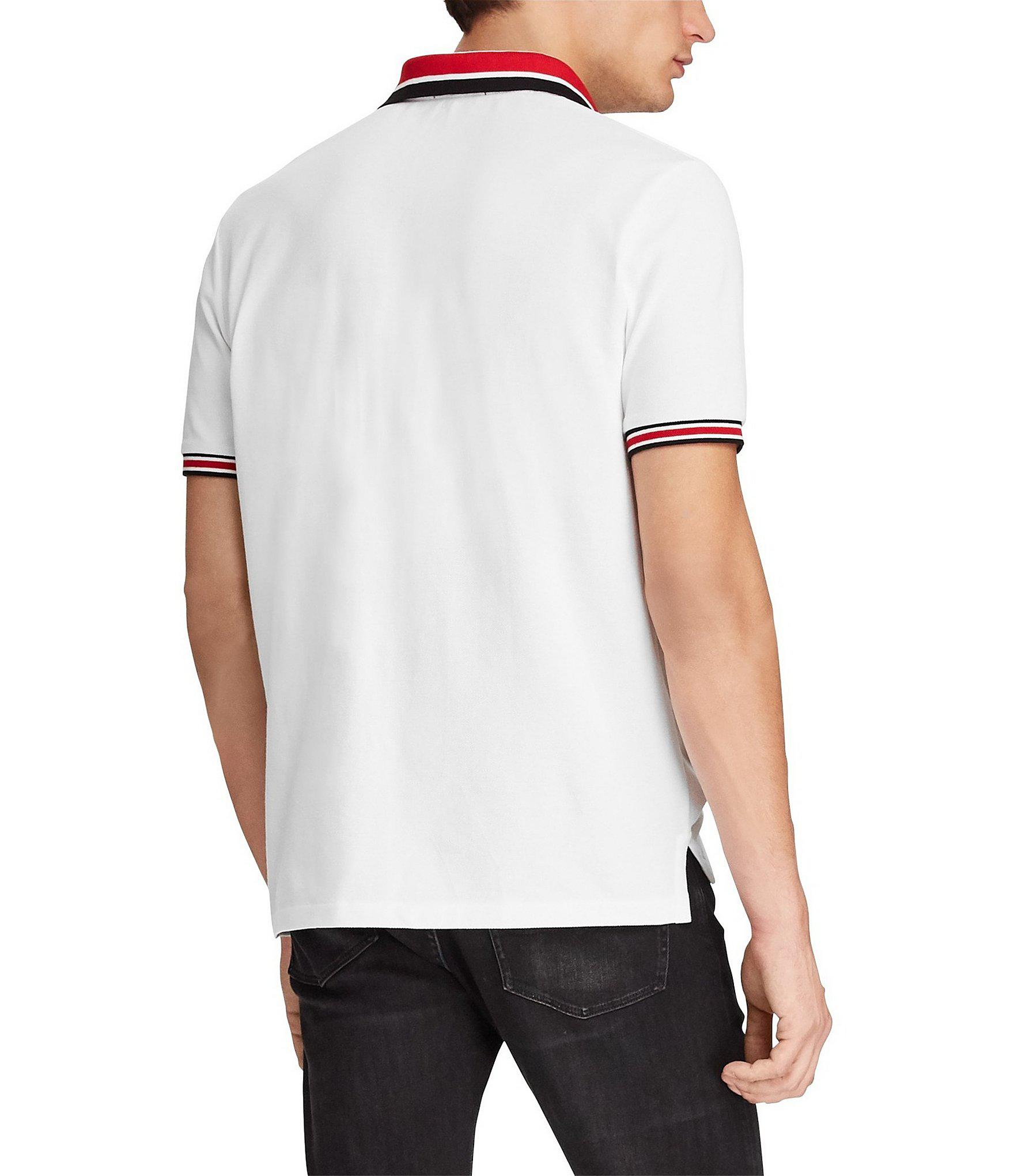 4068c288c Polo Ralph Lauren - White P-wing Mesh Classic Fit Polo Shirt for Men -.  View fullscreen