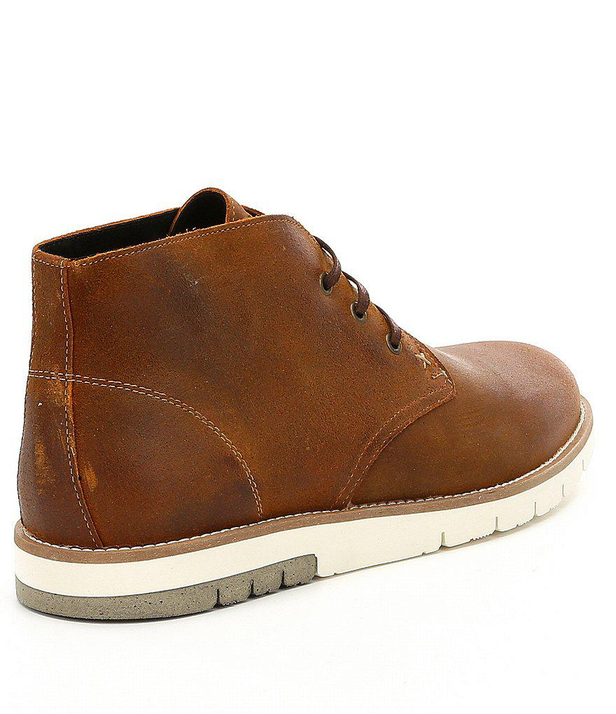 f52b105d013 Wolverine Brown Men ́s Gibson Chukka Boots for men