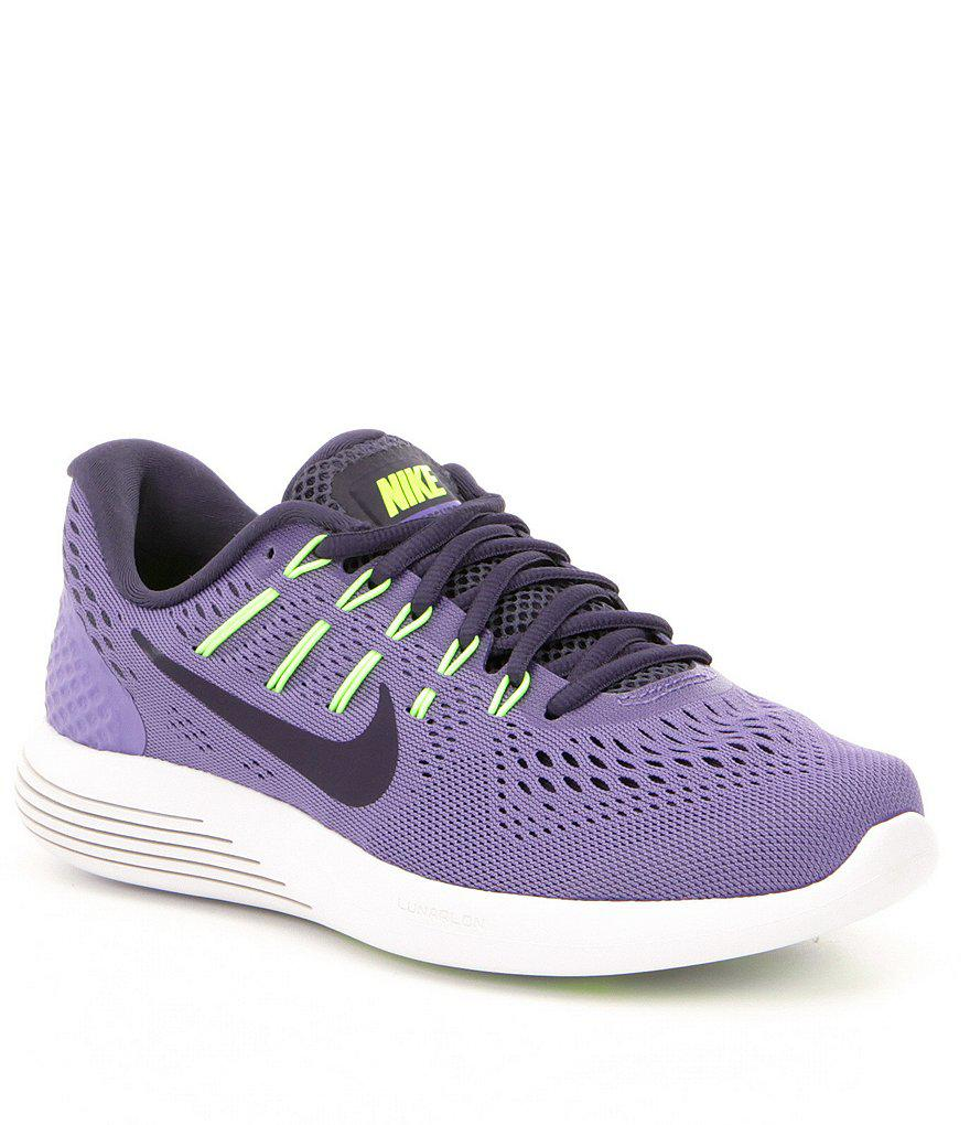 low priced ca4c3 f1415 Nike Women ́s Lunarglide 8 Running Shoes in Purple - Lyst