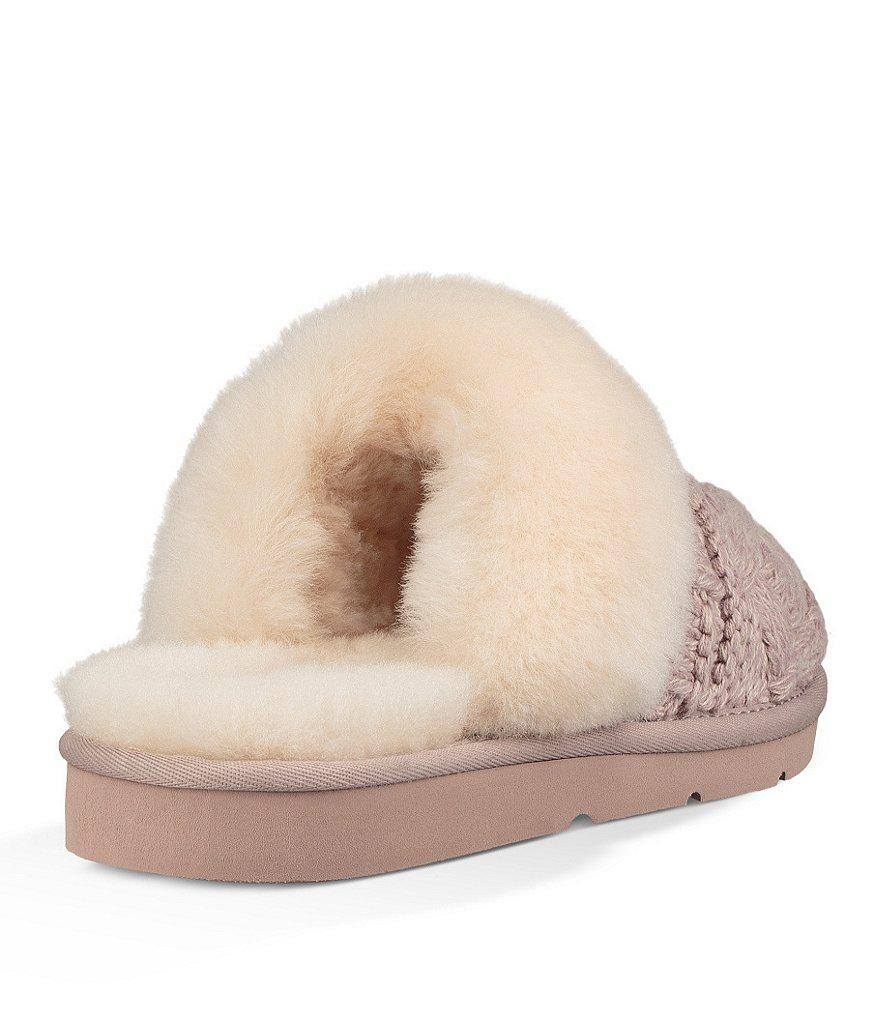 d7d6f5bd12d Ugg Natural Cozy Cable Slippers