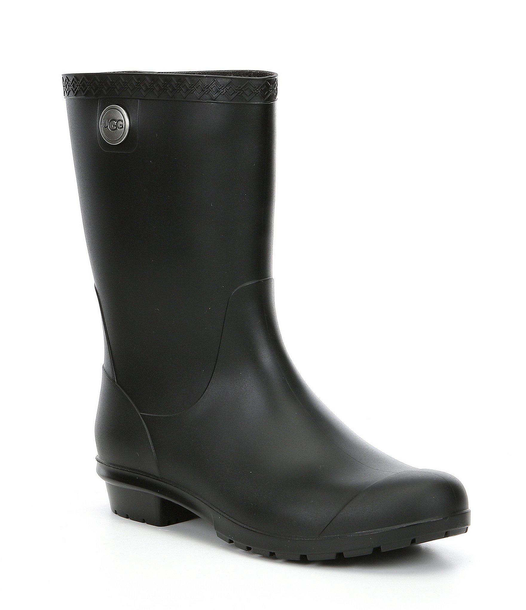 e91e1a93b46 Ugg Black Sienna Matte Shearling-lined Boots