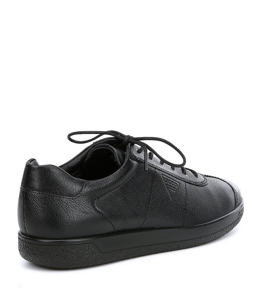 51b211eddd Ecco Black Men's Soft 1 Tie Sneakers for men