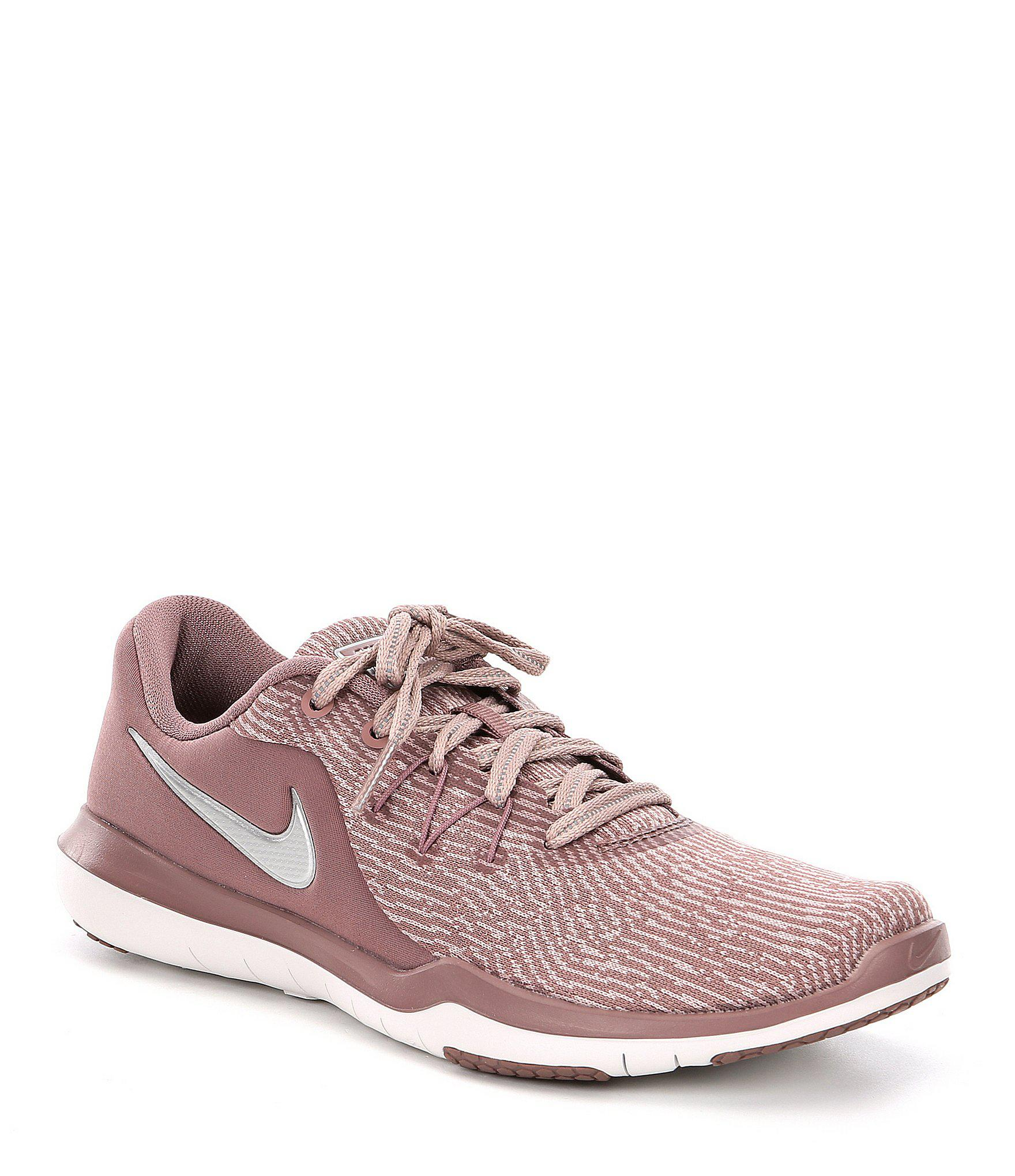 5f899e350e8d5 Lyst - Nike Women s Flex Supreme Tr 6 Print Training Shoe