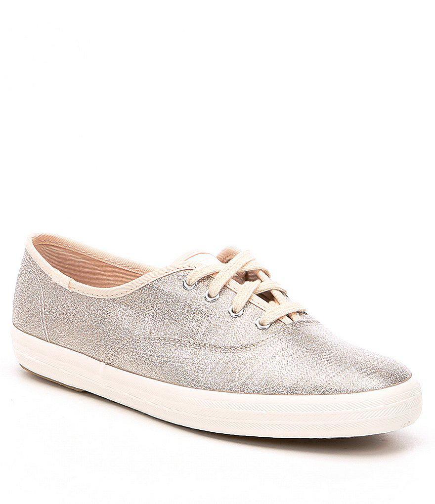 29f163f6fc5 Lyst - Keds Champion Lurex Sneakers