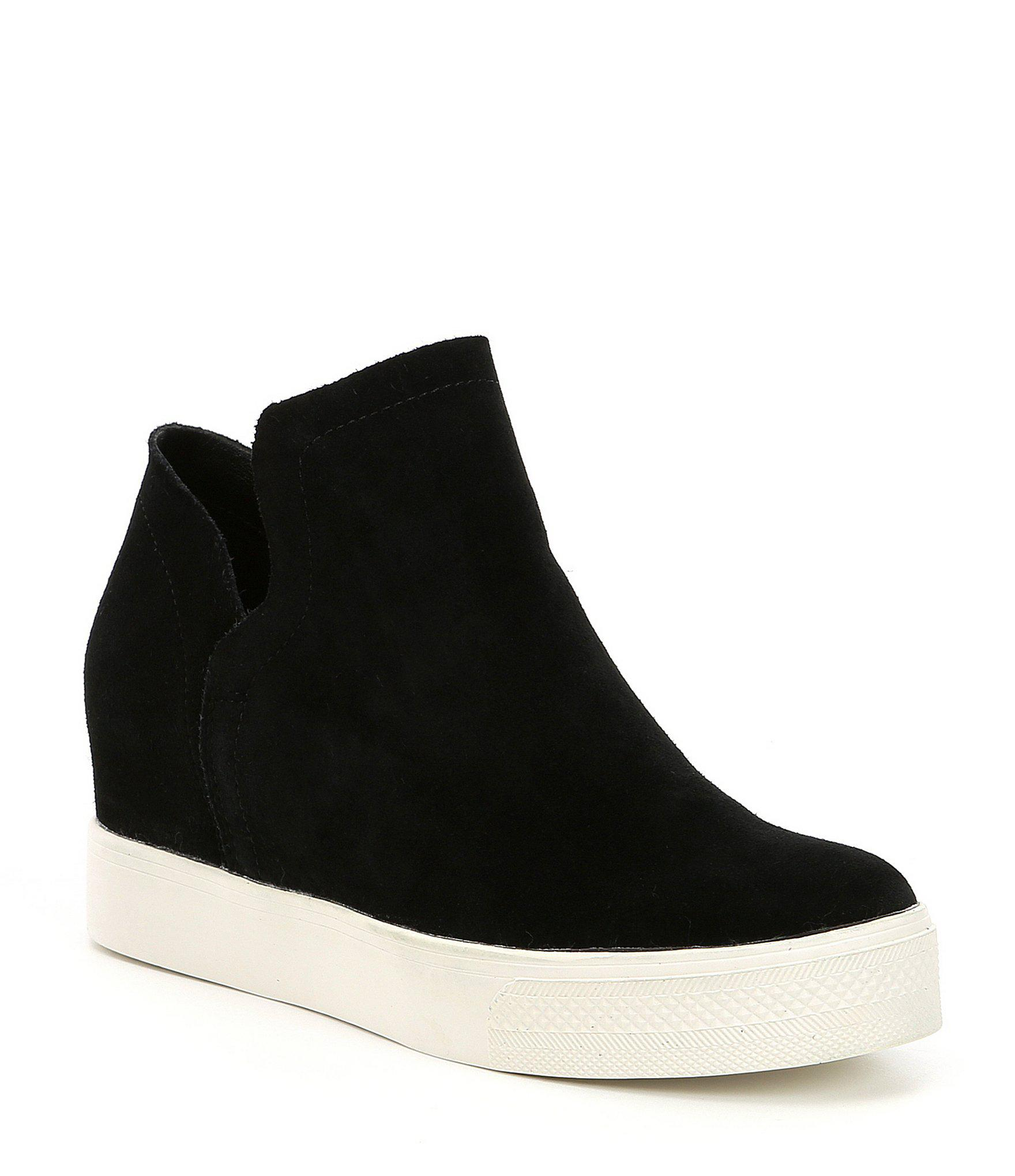 9dbe37bcbc5 Women's Wrangle Suede Platform Wedge Sneakers