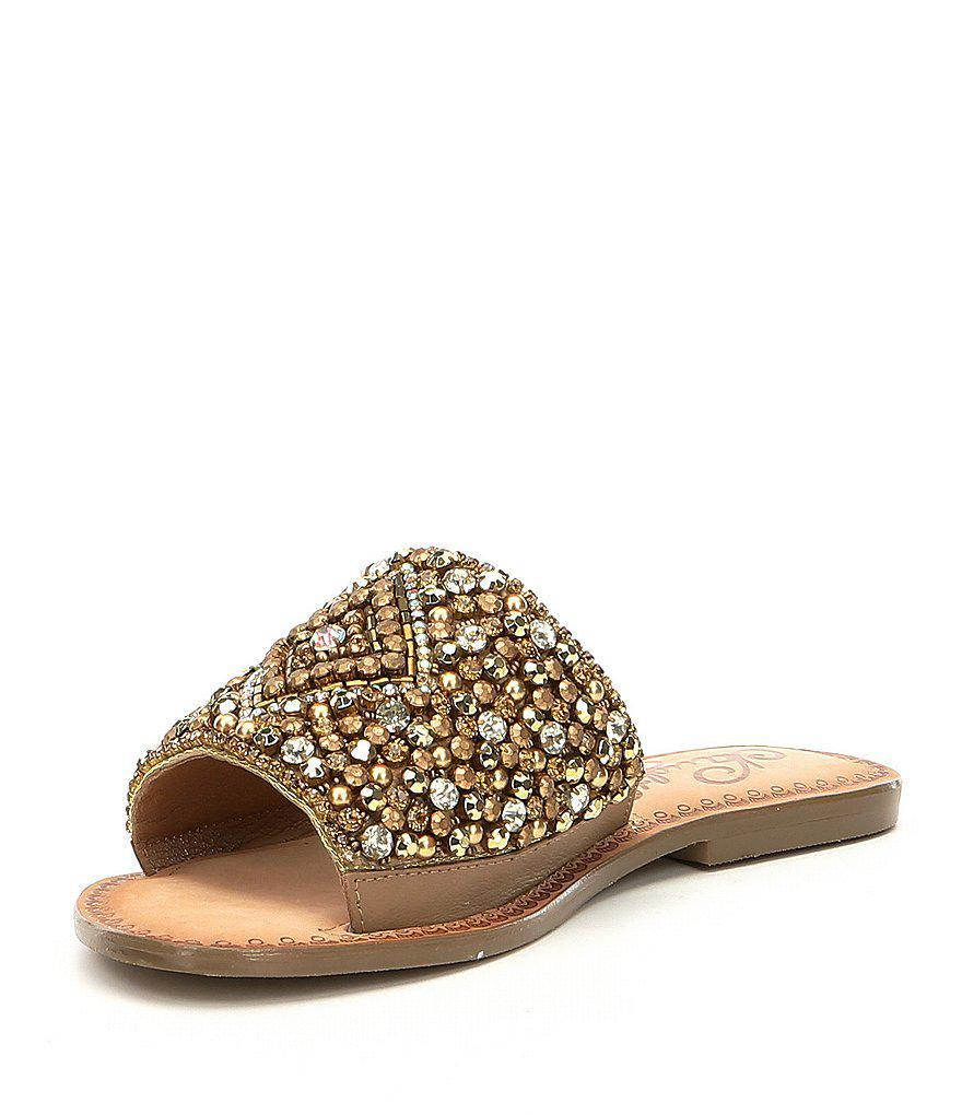 Naughty Monkey Susanna Bejeweled Detail Sandals 5f1er