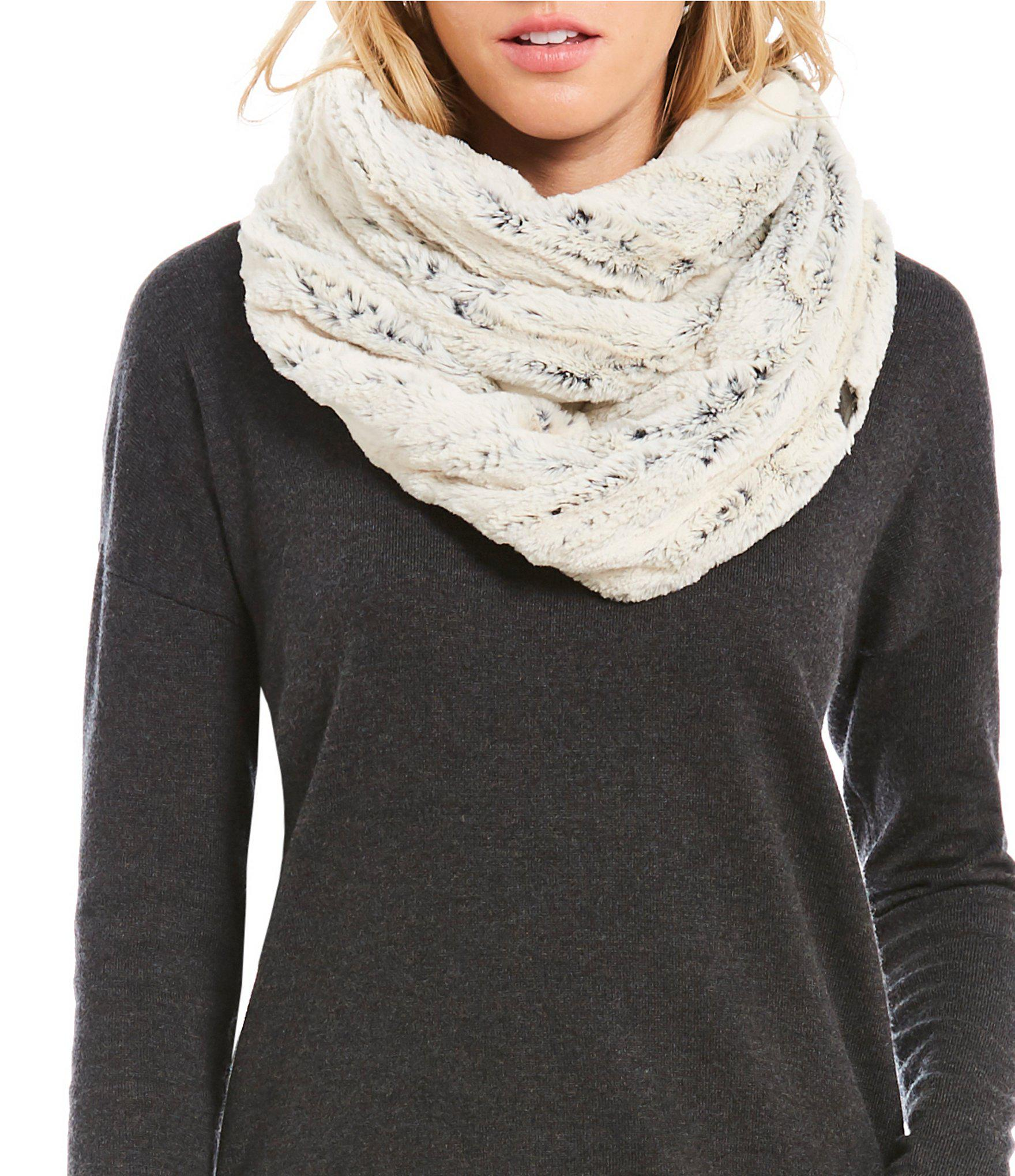 3993d713f The North Face Black Furlander Infinity Scarf
