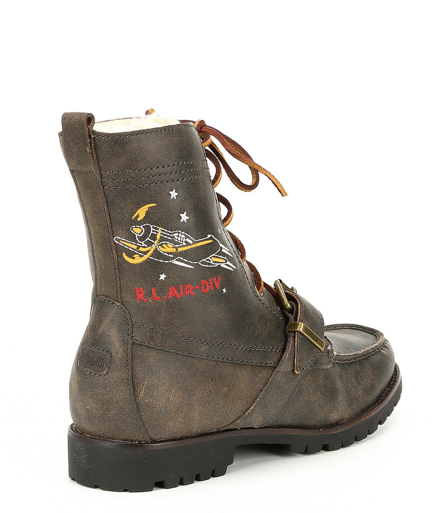 a64533e172b Men's Heavyweight Leather Ranger-s Boot