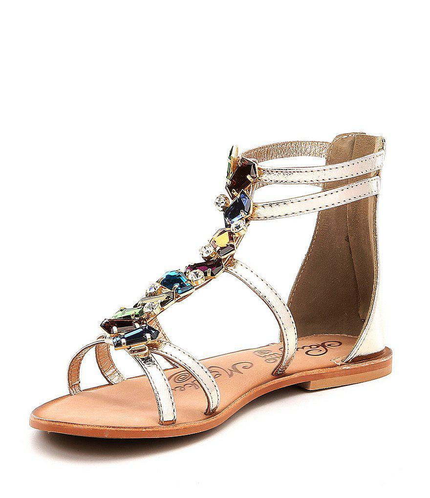 Naughty Monkey Darla Multi Jewel Gladiator Sandals hRJPz
