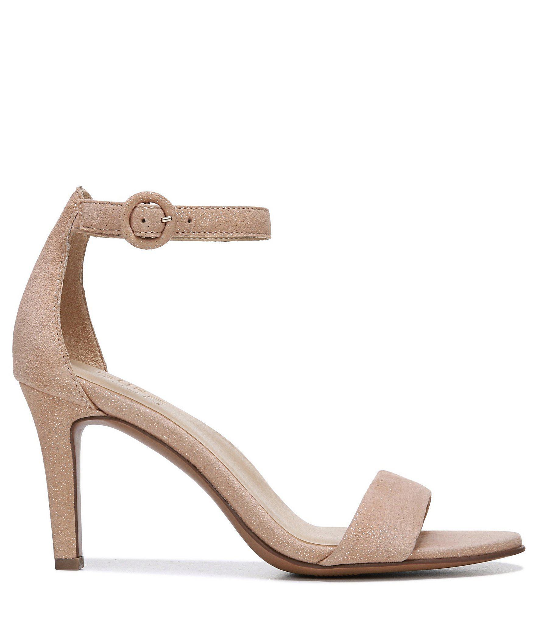 a9d2e20949d0 Naturalizer - Multicolor Kinsley Suede Ankle Strap Dress Sandals - Lyst.  View fullscreen