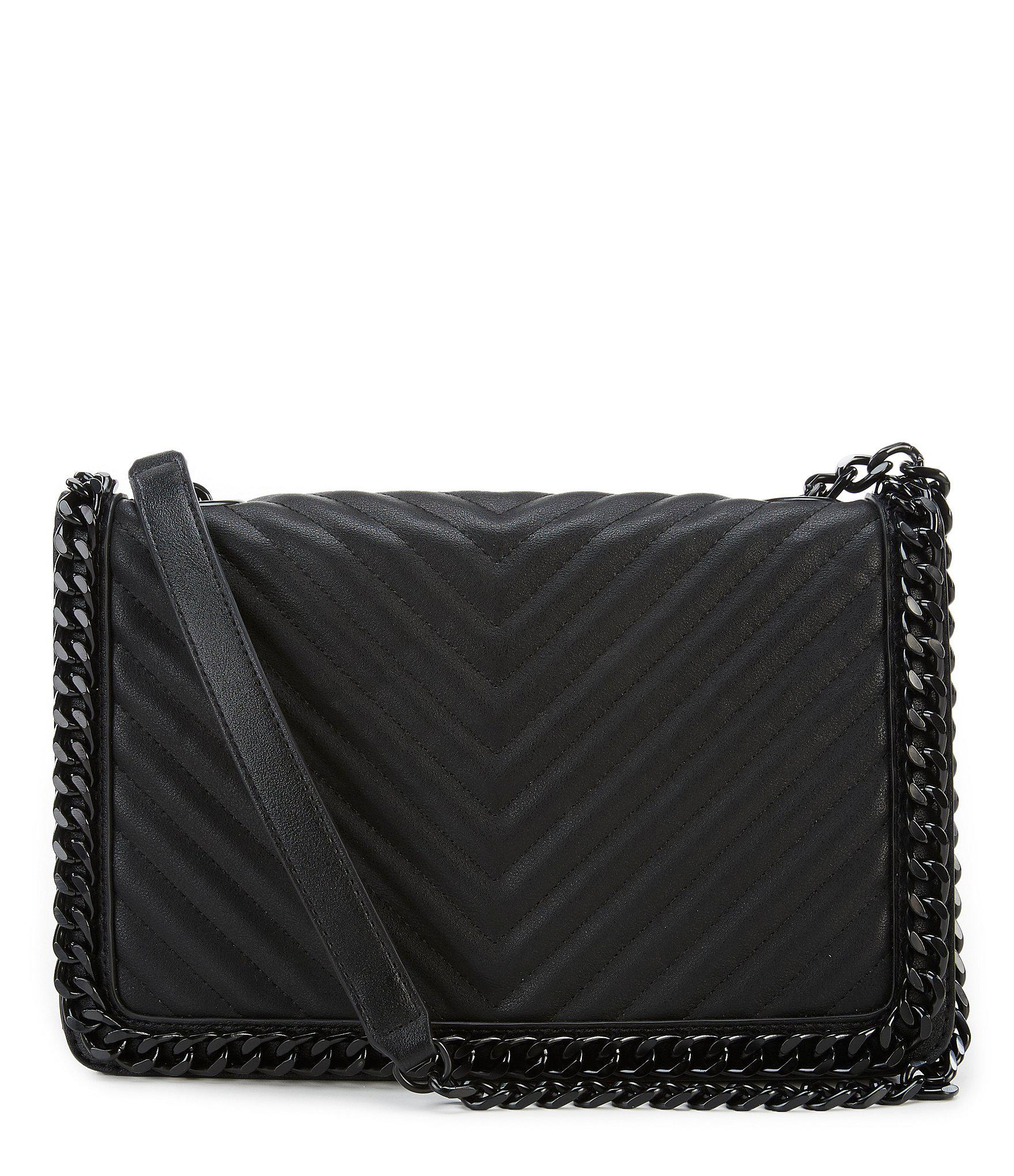 33076fd8ad7 ALDO Greenwald Quilted Shoulder Bag in Black - Lyst