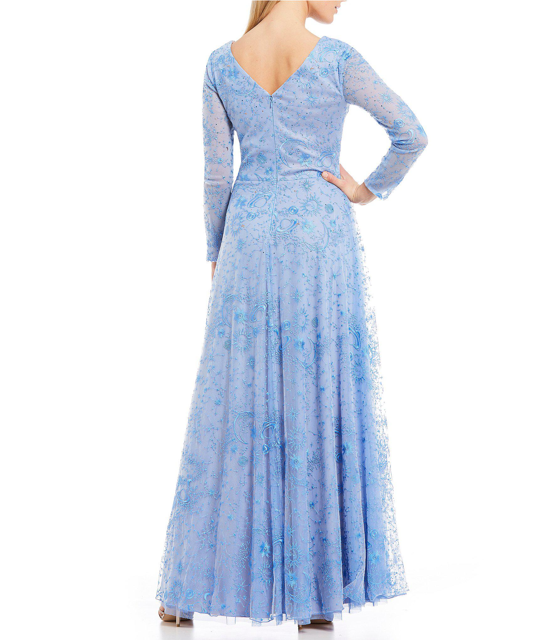 7fd3d6b179fb Long Sleeve Evening Gowns Dillards