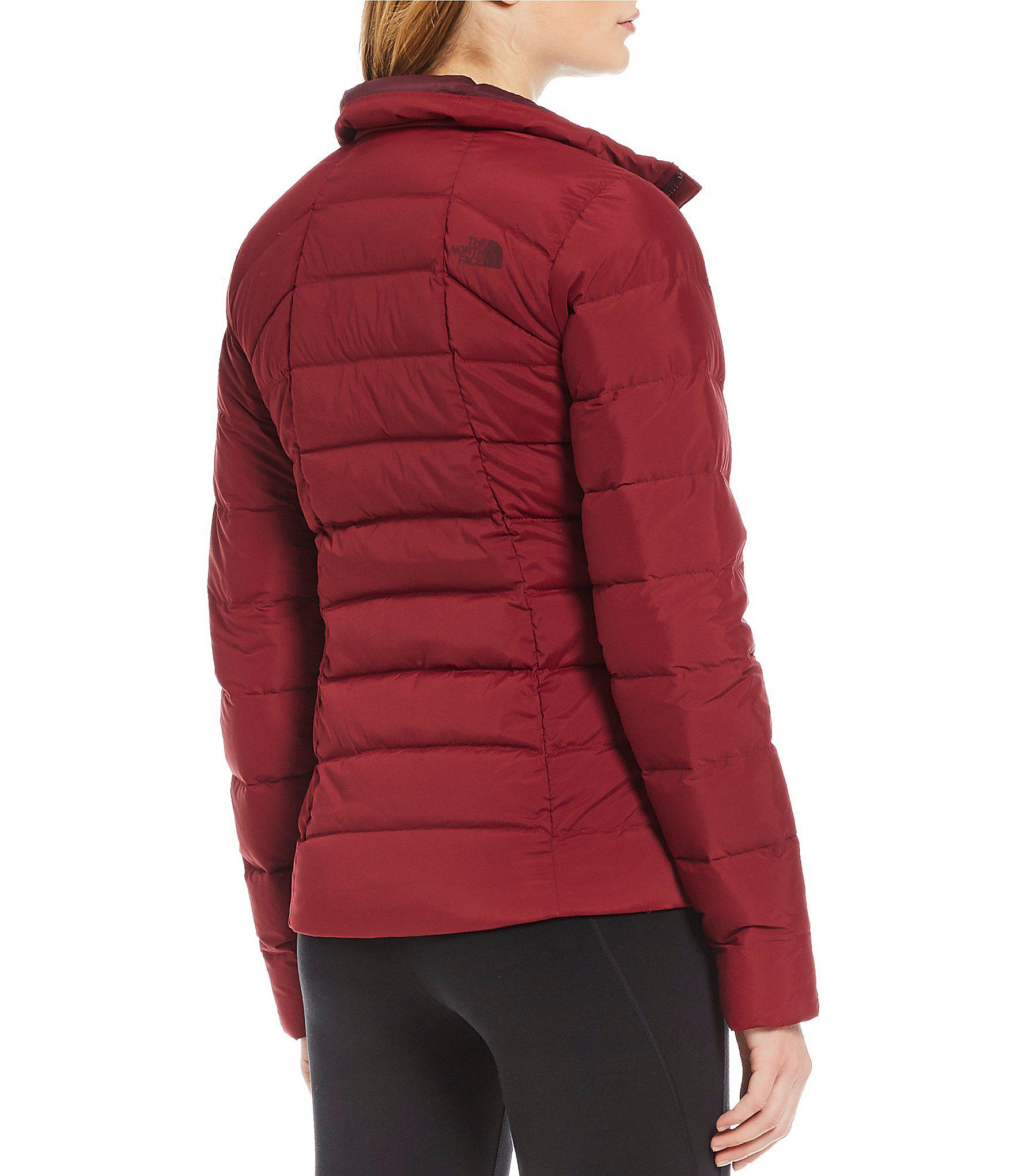 03e944c400 Lyst - The North Face Mountain Sports Stretch Down Zip Front Puffer ...