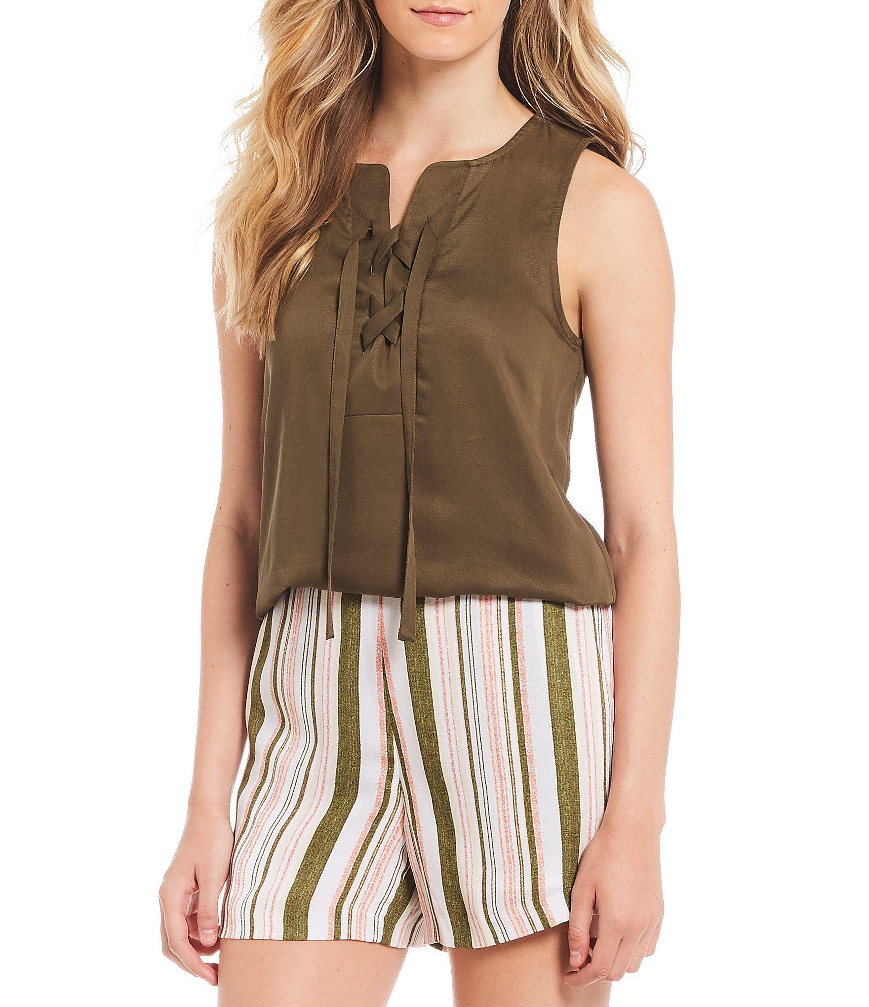 f6572e4a991b5 Lyst - Cremieux Fabby Blouse in Green