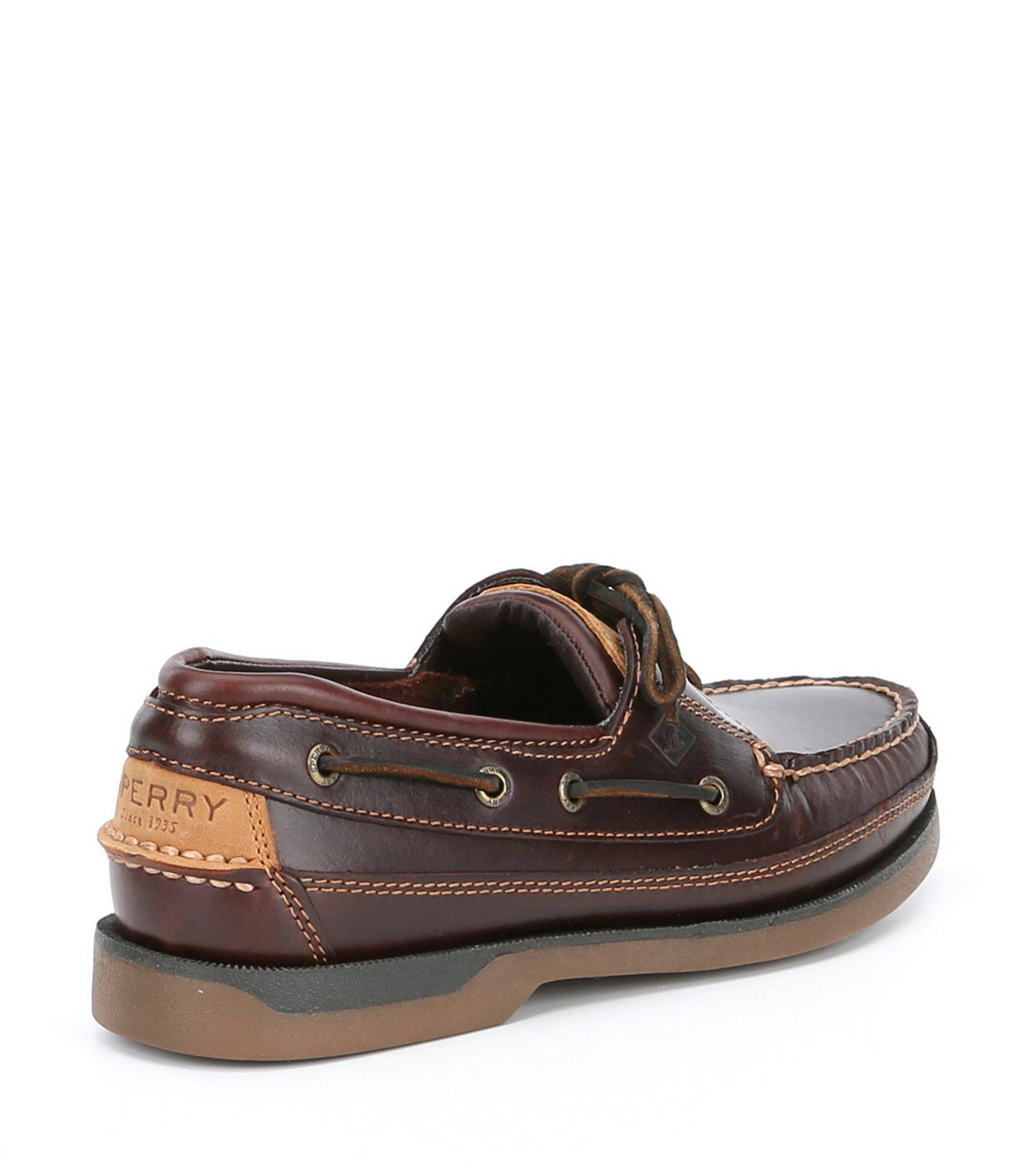 0413ced87b26 Sperry Top-Sider - Brown Men s Mako 2-eye Boat Shoe for Men -. View  fullscreen