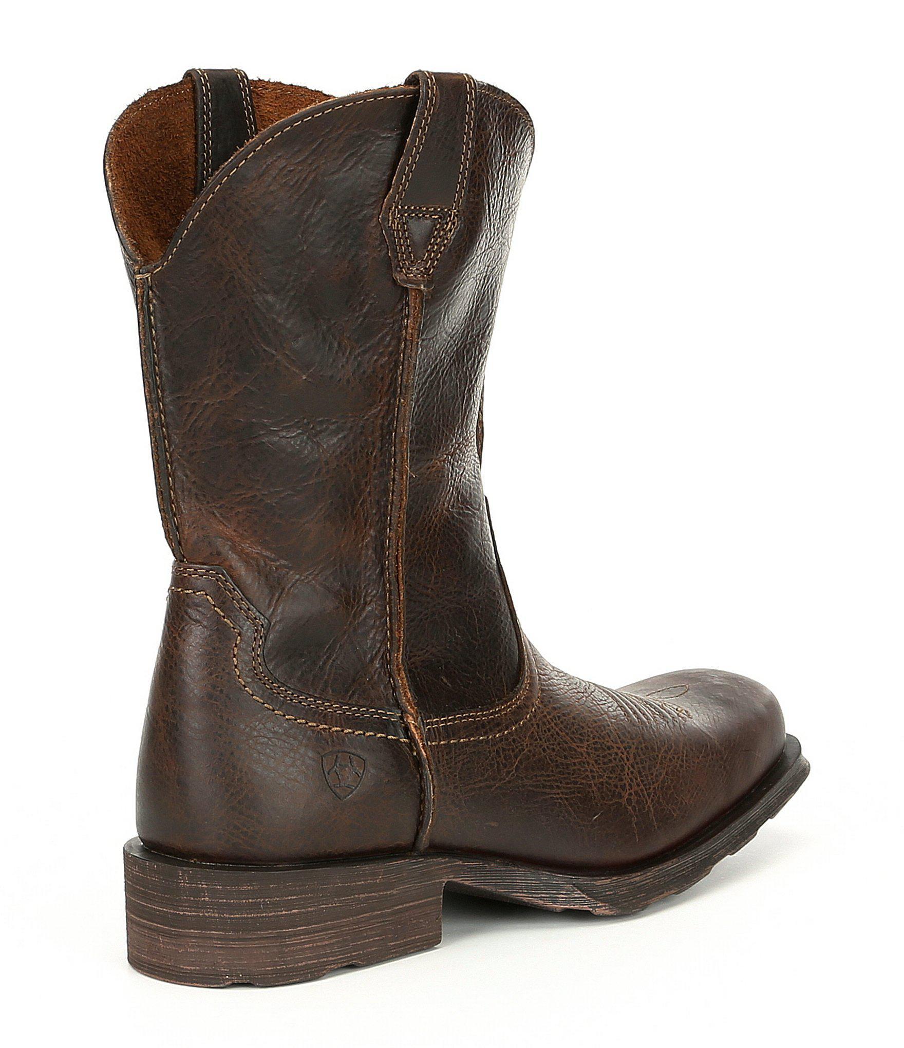 a8135d84c7d Brown Men's Rambler Square Toe Work Boot