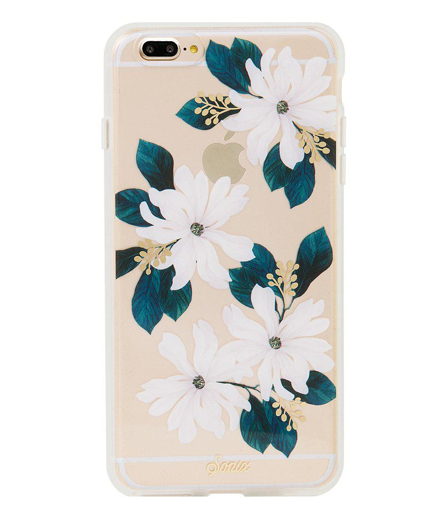 Sonix Delilah Floral Iphone 7 Plus Case In White Lyst